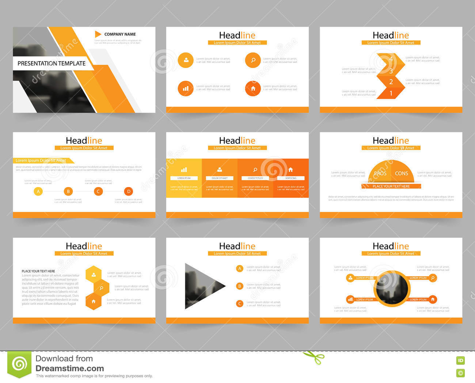 powerpoint presentation template background vector illustration 82901684. Black Bedroom Furniture Sets. Home Design Ideas