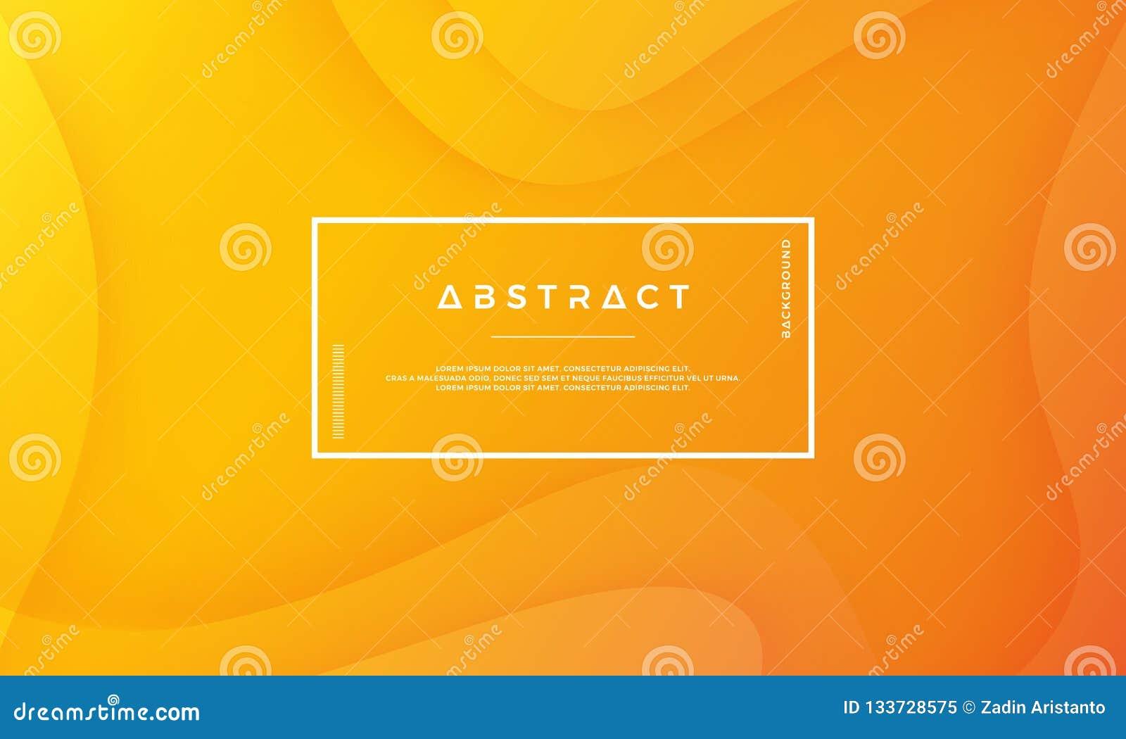 Orange abstrakter Hintergrund ist für Netz, Titel, Abdeckung, Broschüre, Netzfahne und andere passend