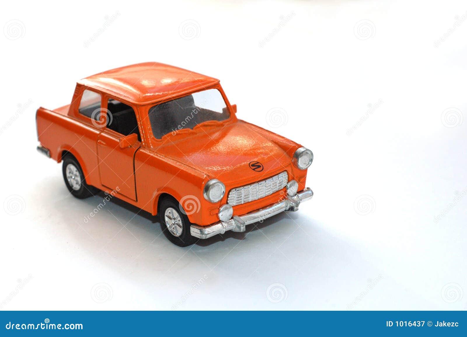 Orange auto spielzeug stockbild bild von dekorativ