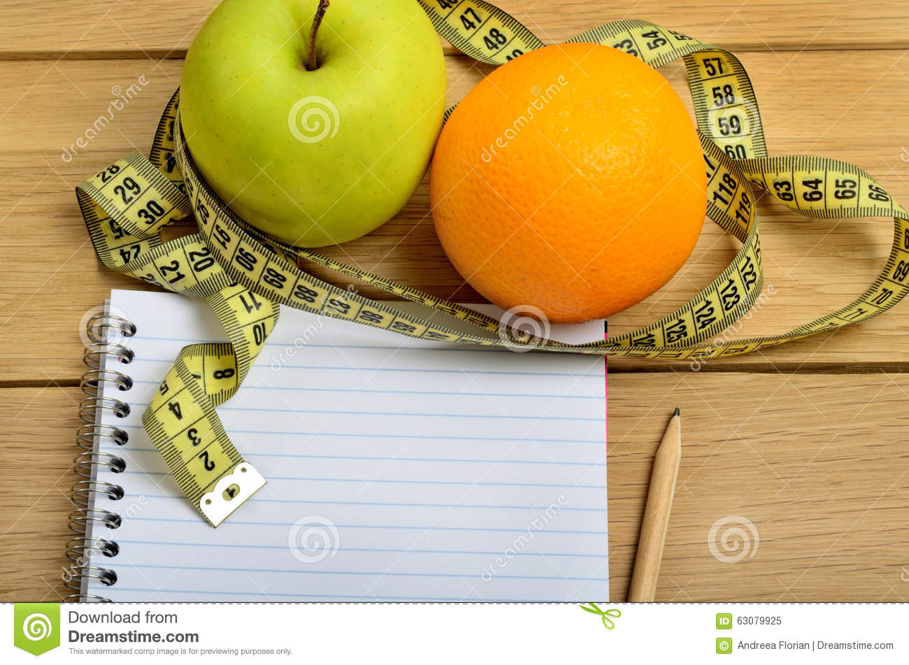 Download Orange Avec Le Fruit Et Le Bloc-notes De Pomme Image stock - Image du repas, ajustement: 63079925