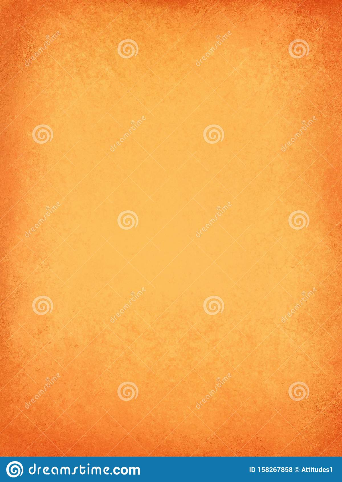 Orange background with solid warm orange and peach colors with red texture border, fall autumn halloween and thanksgiving