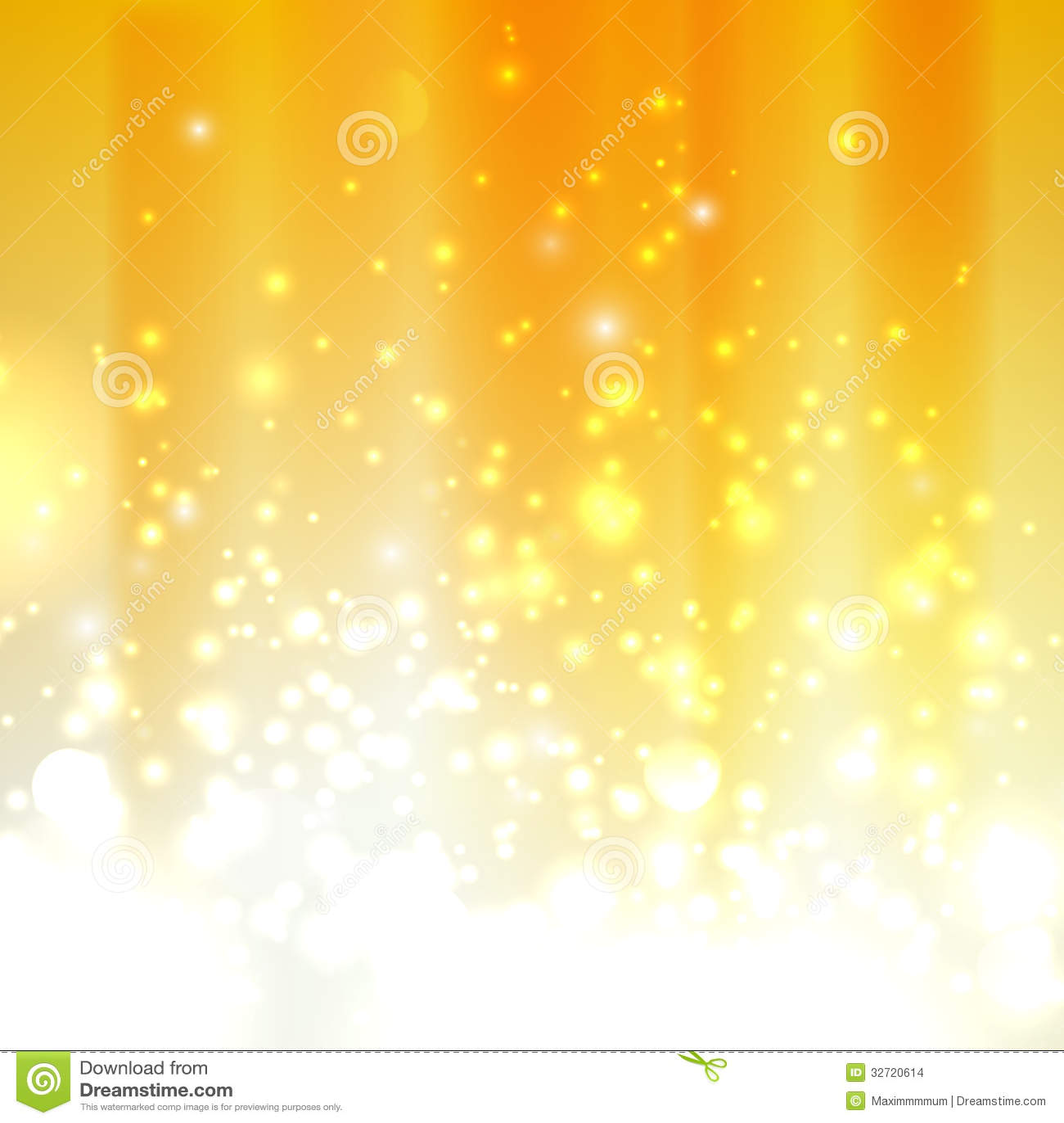 Orange Background With Sparkles Stock Images - Image: 32720614