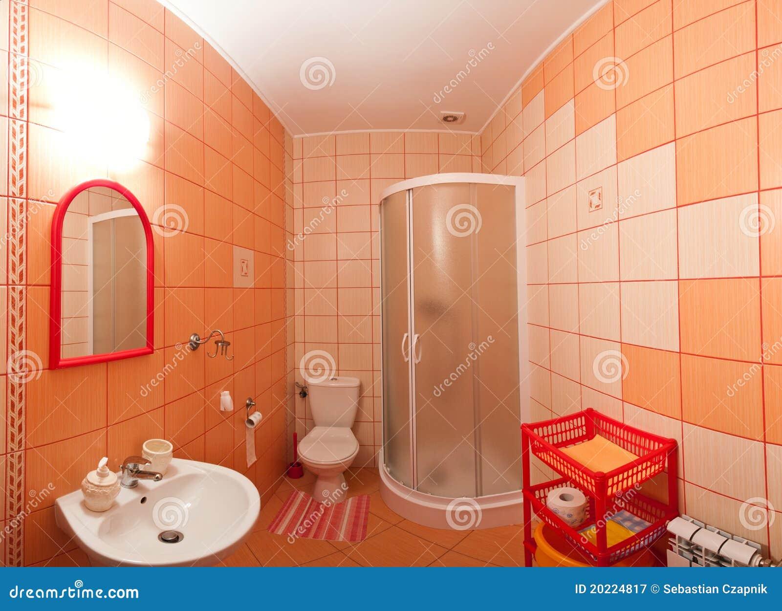 Badezimmer Orange ...