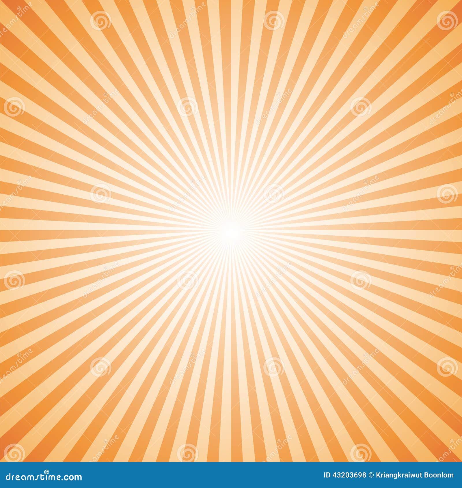 Download Orange Bakgrund För Färgbristning Stock Illustrationer - Illustration av sunburst, kallt: 43203698