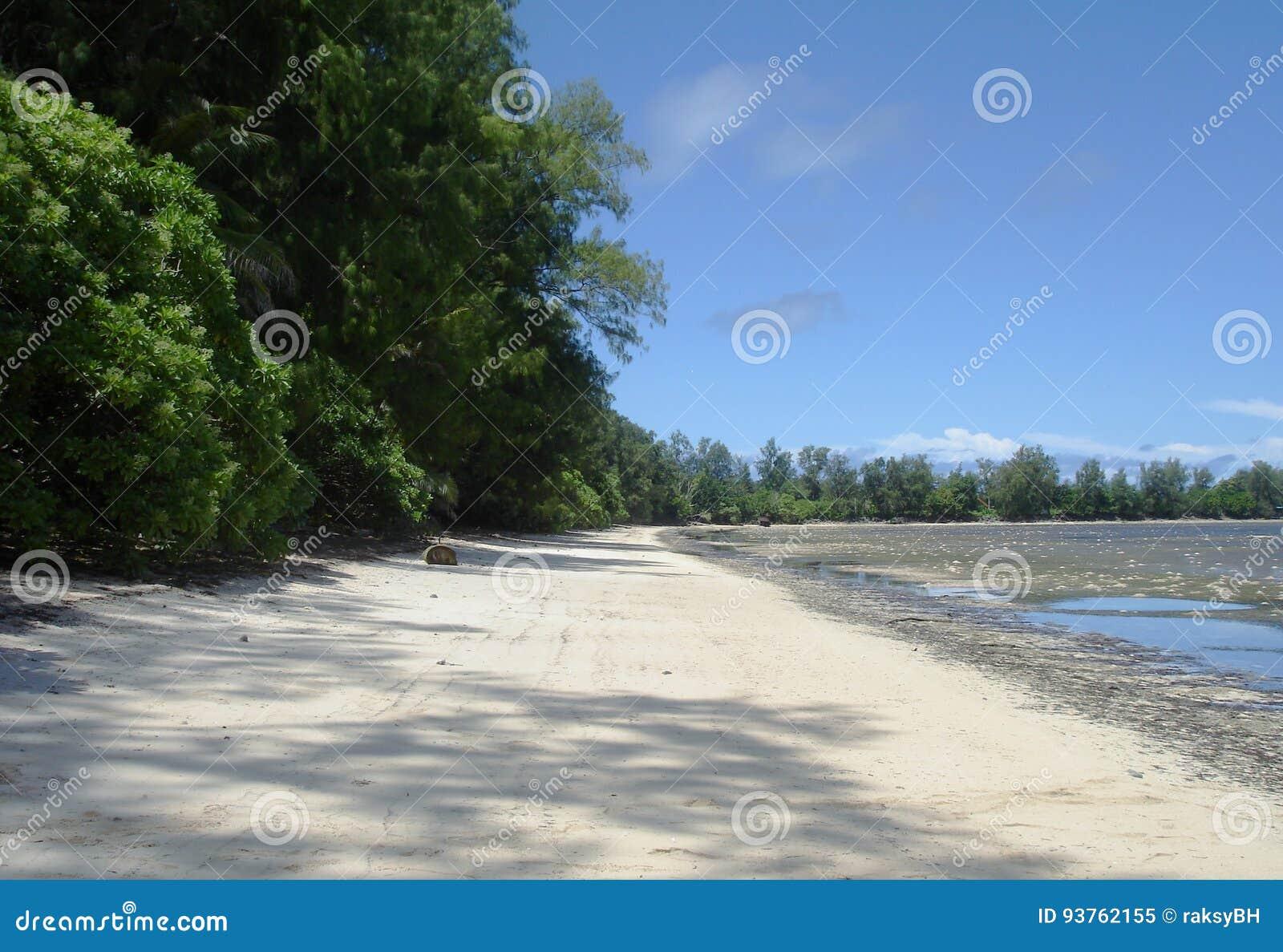 Orange Beach, Peleliu, Palau Stock Image - Image of battle