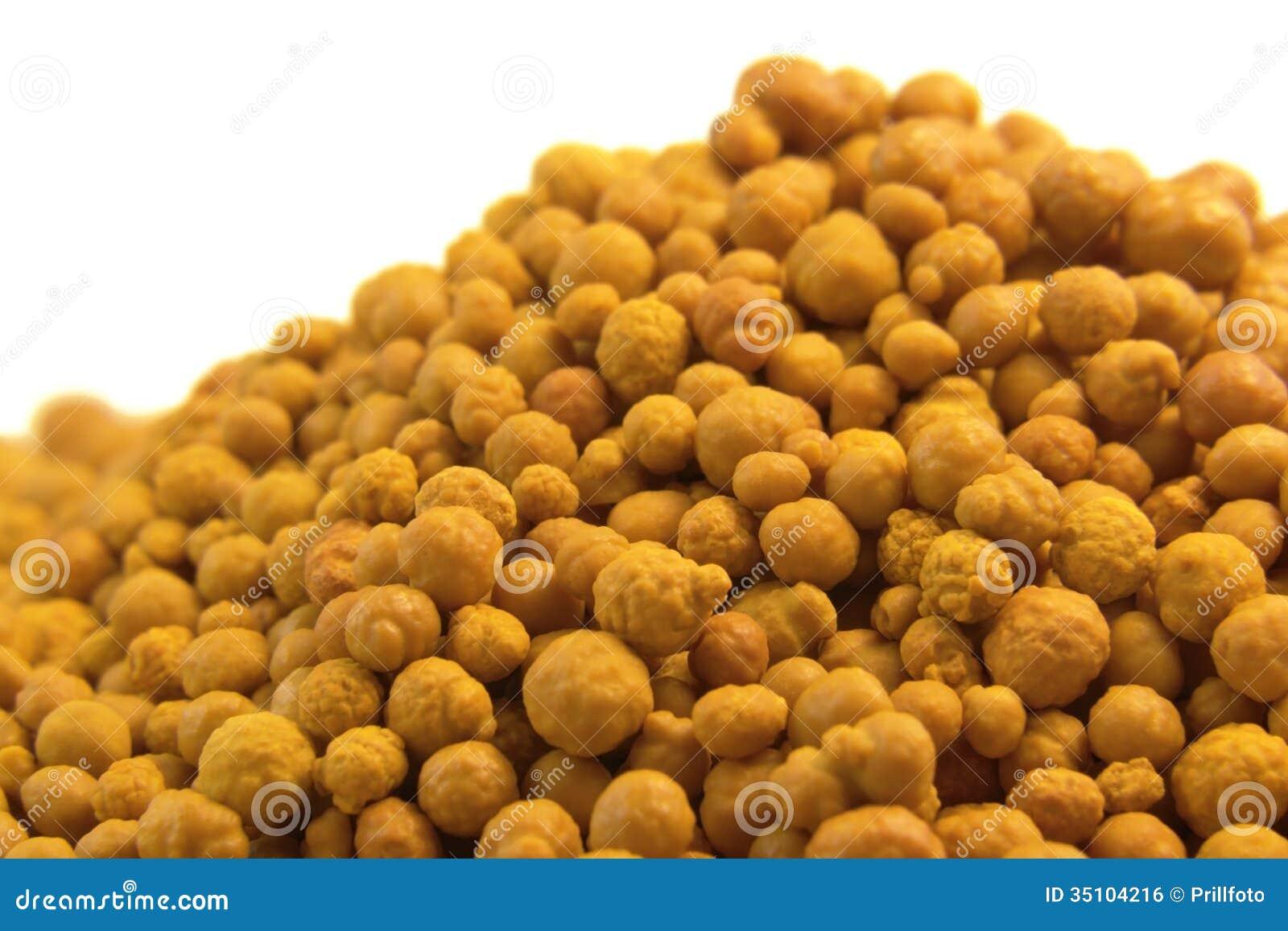 Orange bollar för ferric klorid