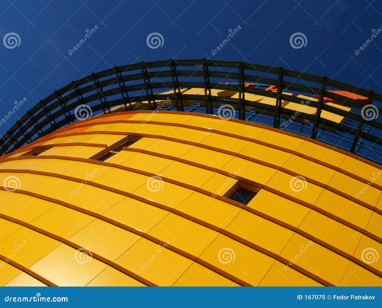 Orange building [2]