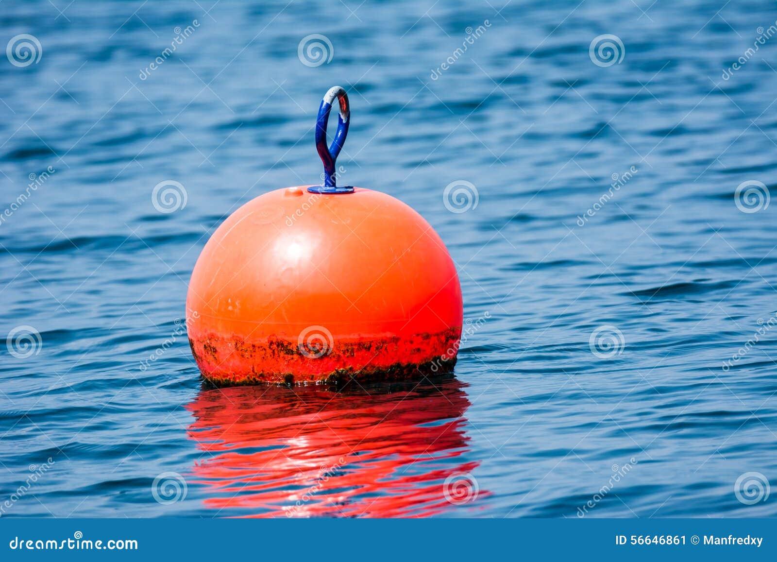 Orange buoy