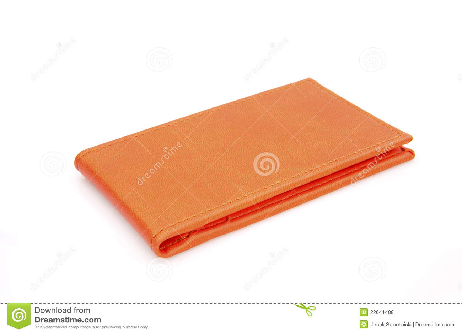 Orange business card holder royalty free stock photos for Orange business card holder