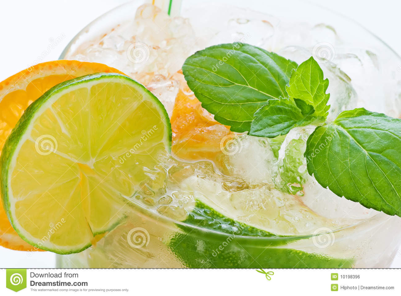 Orange Caipirinha