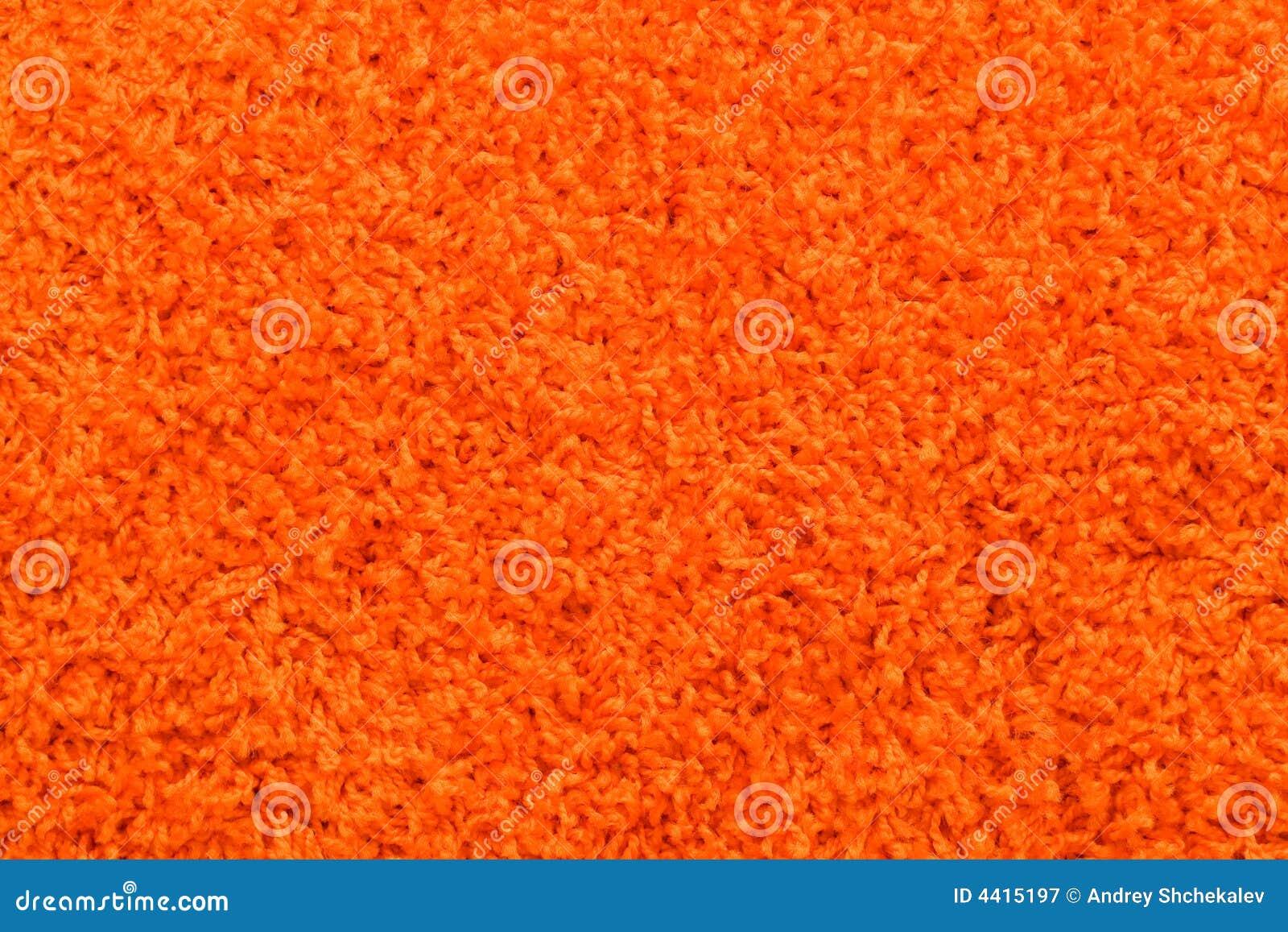 Orange Carpet Texture Stock Image Image Of Materials