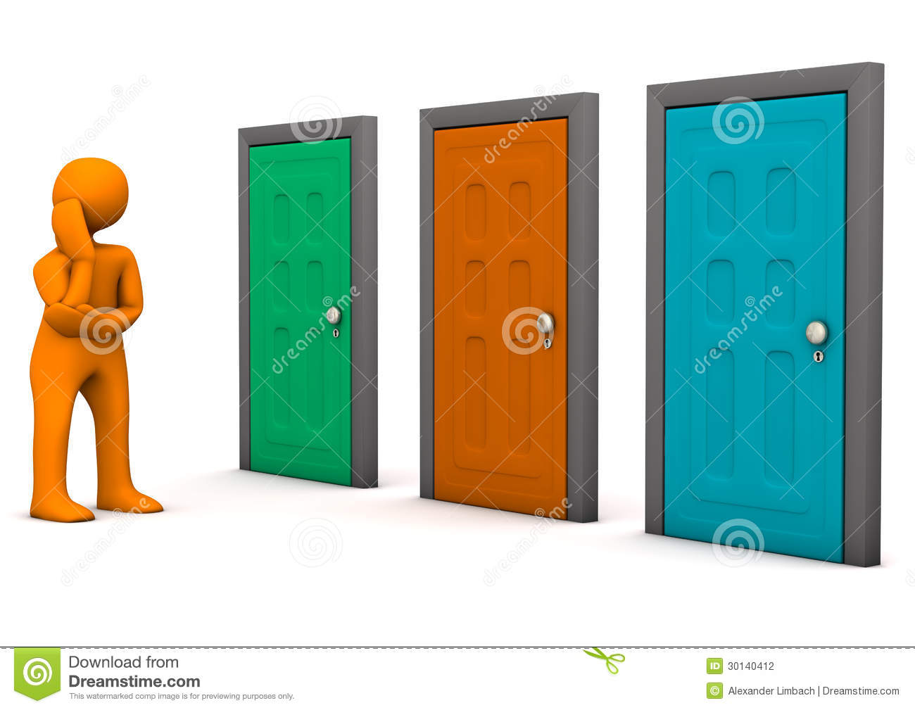 No Credit Check Credit Cards >> Doors Option Stock Photography - Image: 30140412