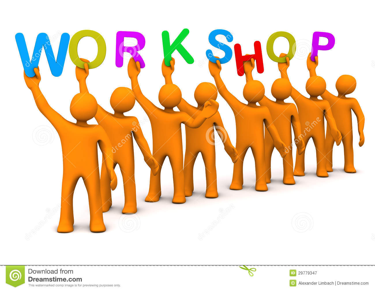 Workshop Manikins Royalty Free Stock Photography - Image: 29779347