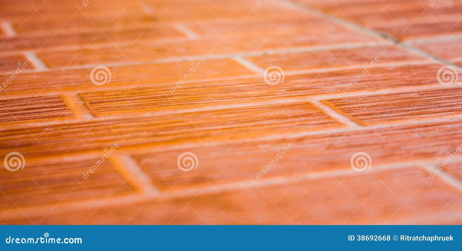 Orange Ceramic Tile Floor Stock Photo Image Of Fret 38692668