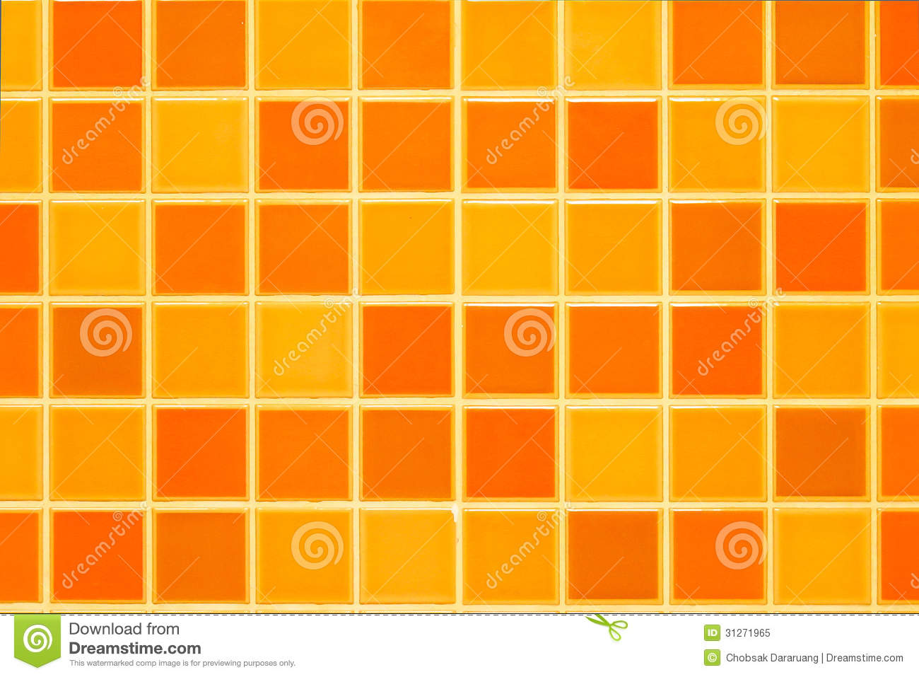 Orange ceramic tile wall stock image image of texture 31271965 orange ceramic tile wall dailygadgetfo Image collections