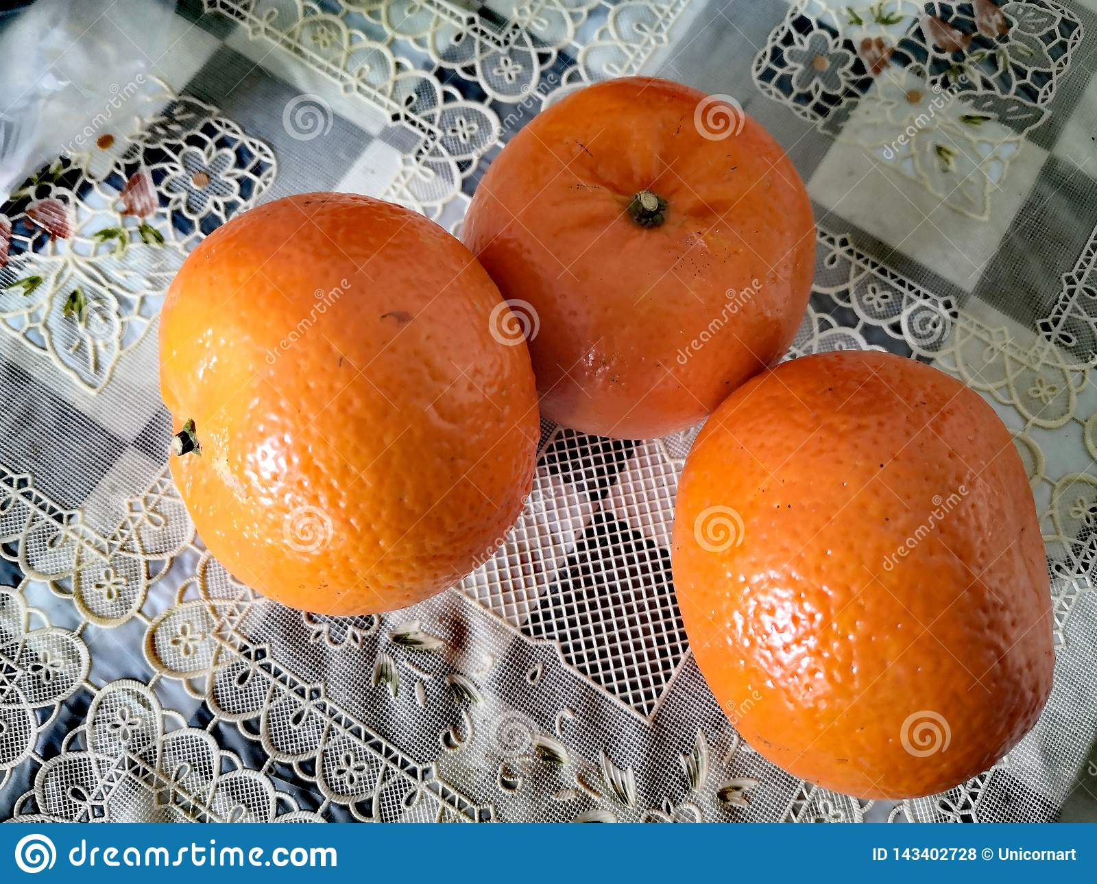 This orange is a Chinese fruit