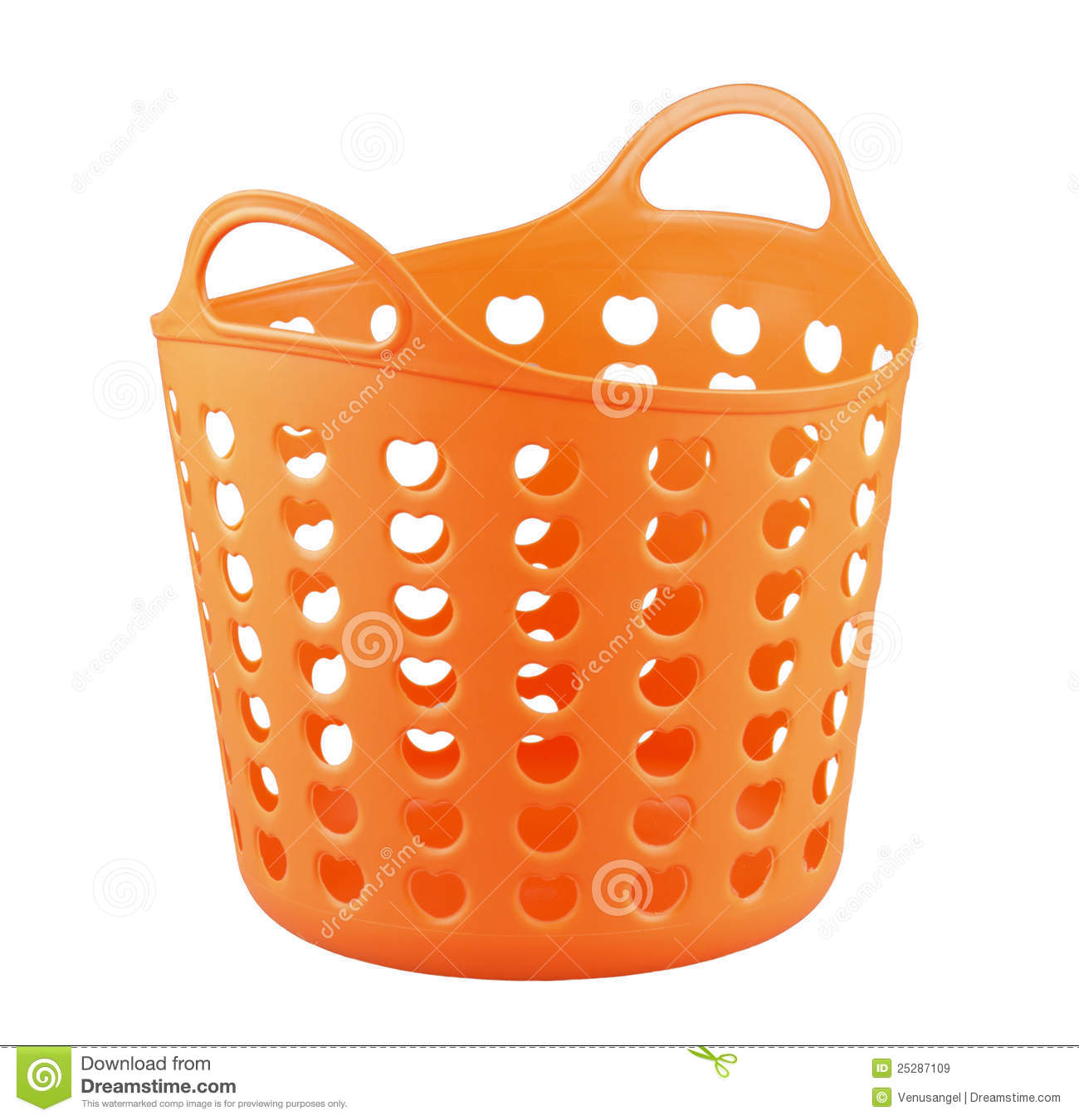 orange color plastic basket stock image image 25287109 Laundry Hanger Vector Laundry Hanger Vector