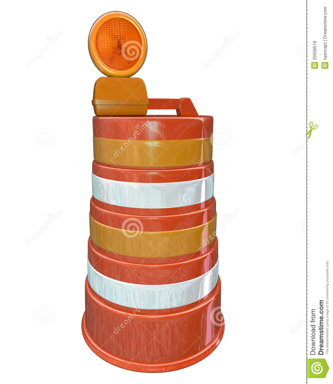 Road Construction Barrels Pictures to Pin on Pinterest ...