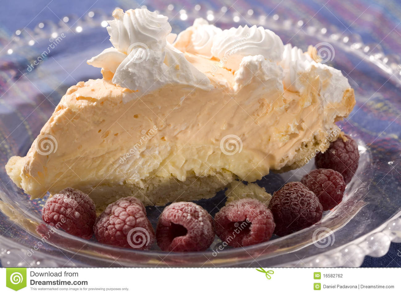 Orange Creamsicle Pie Stock Photography - Image: 16582762
