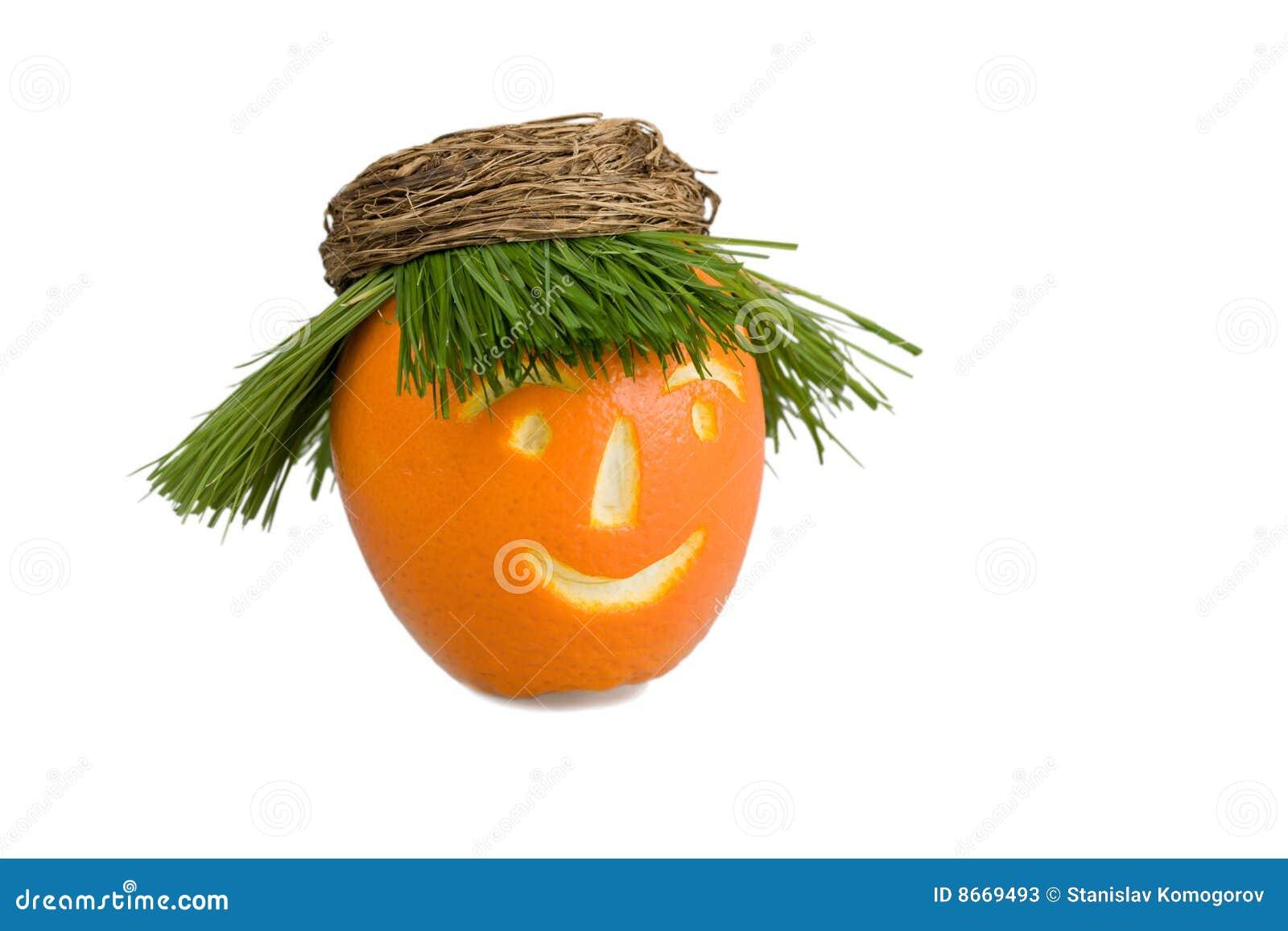 Orange de poupée