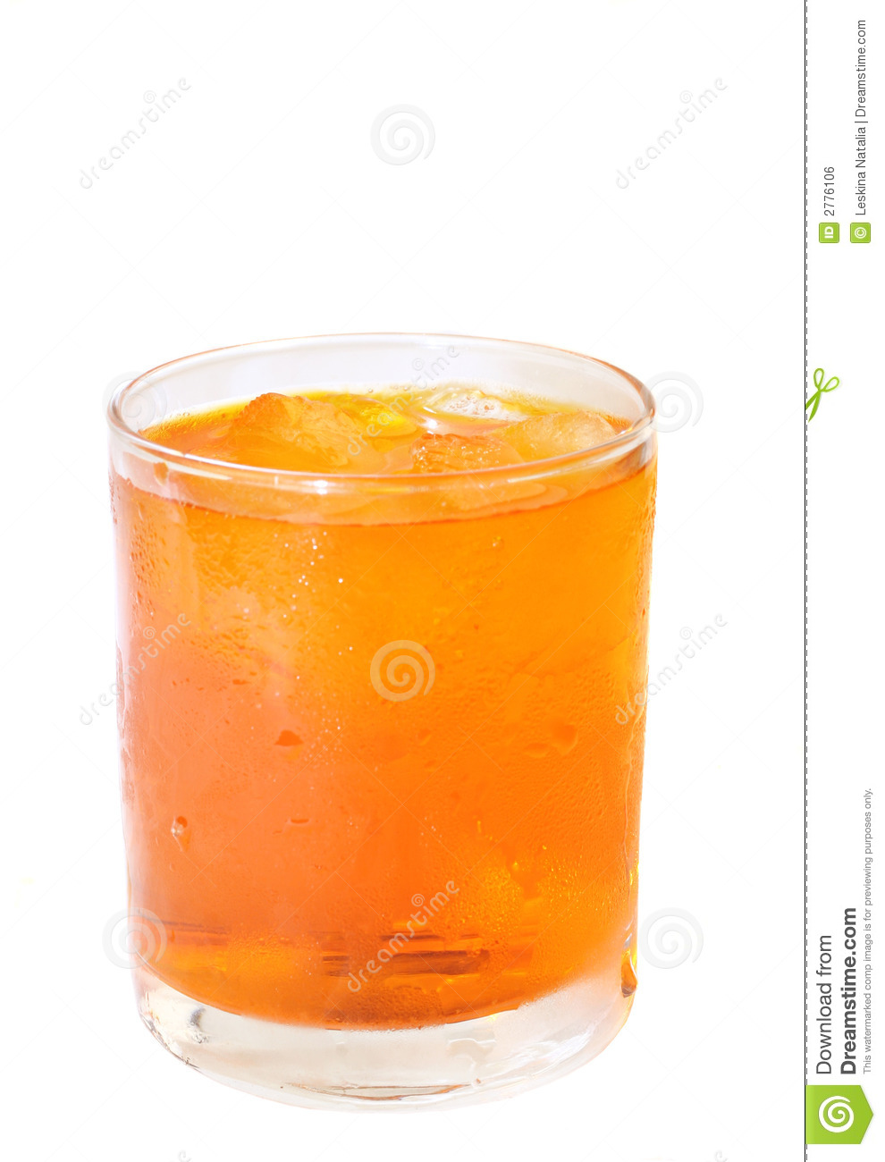 Orange drink with ice royalty free stock image image for Cocktail orange