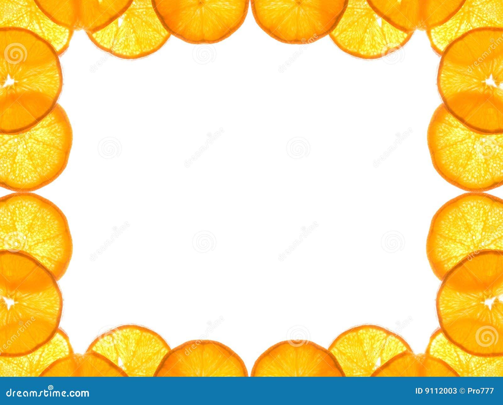 Orange frame stock image. Image of orange, decoration - 9112003