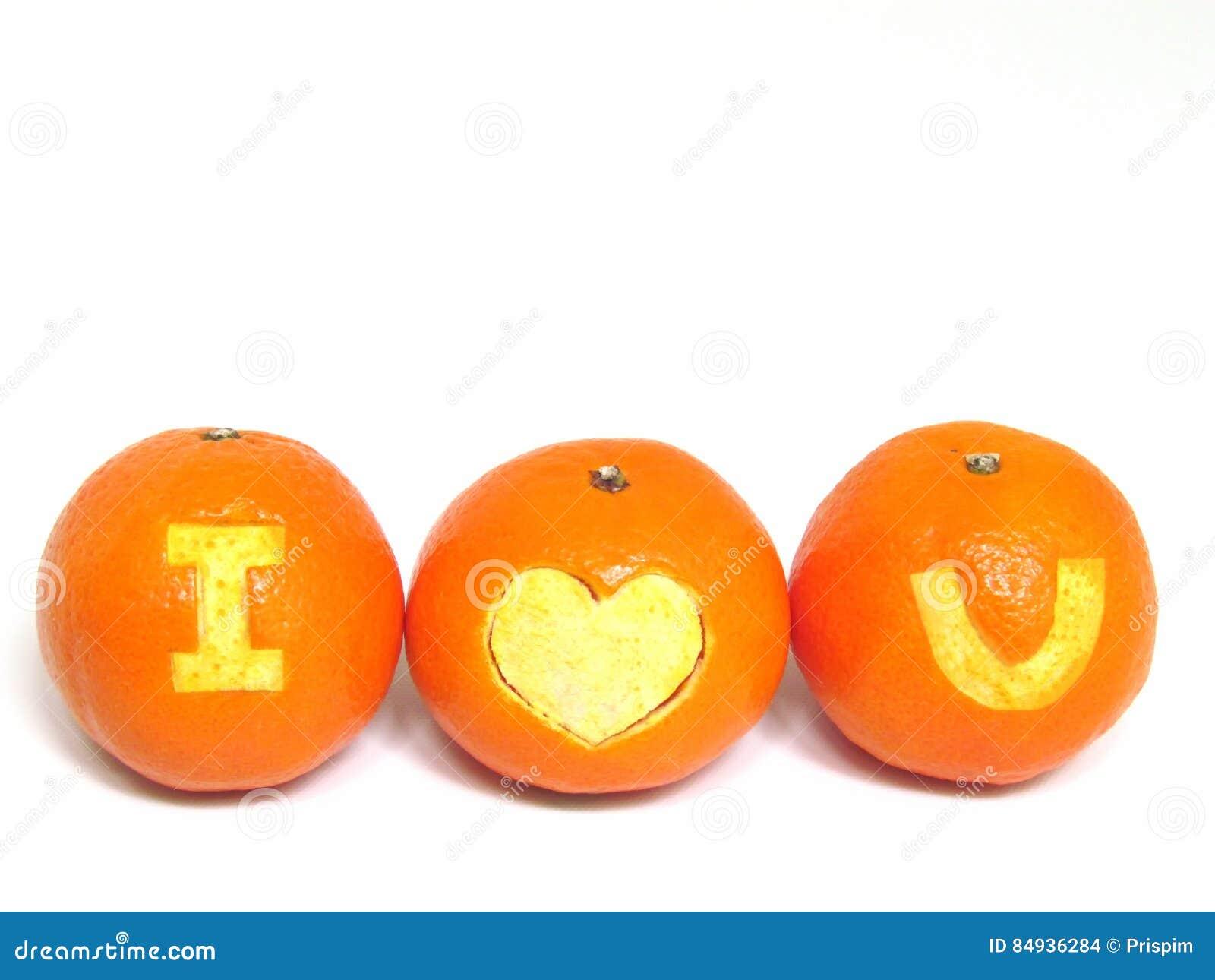 Orange fruits healthy organic oranges with symbol i love u royalty free stock photo biocorpaavc