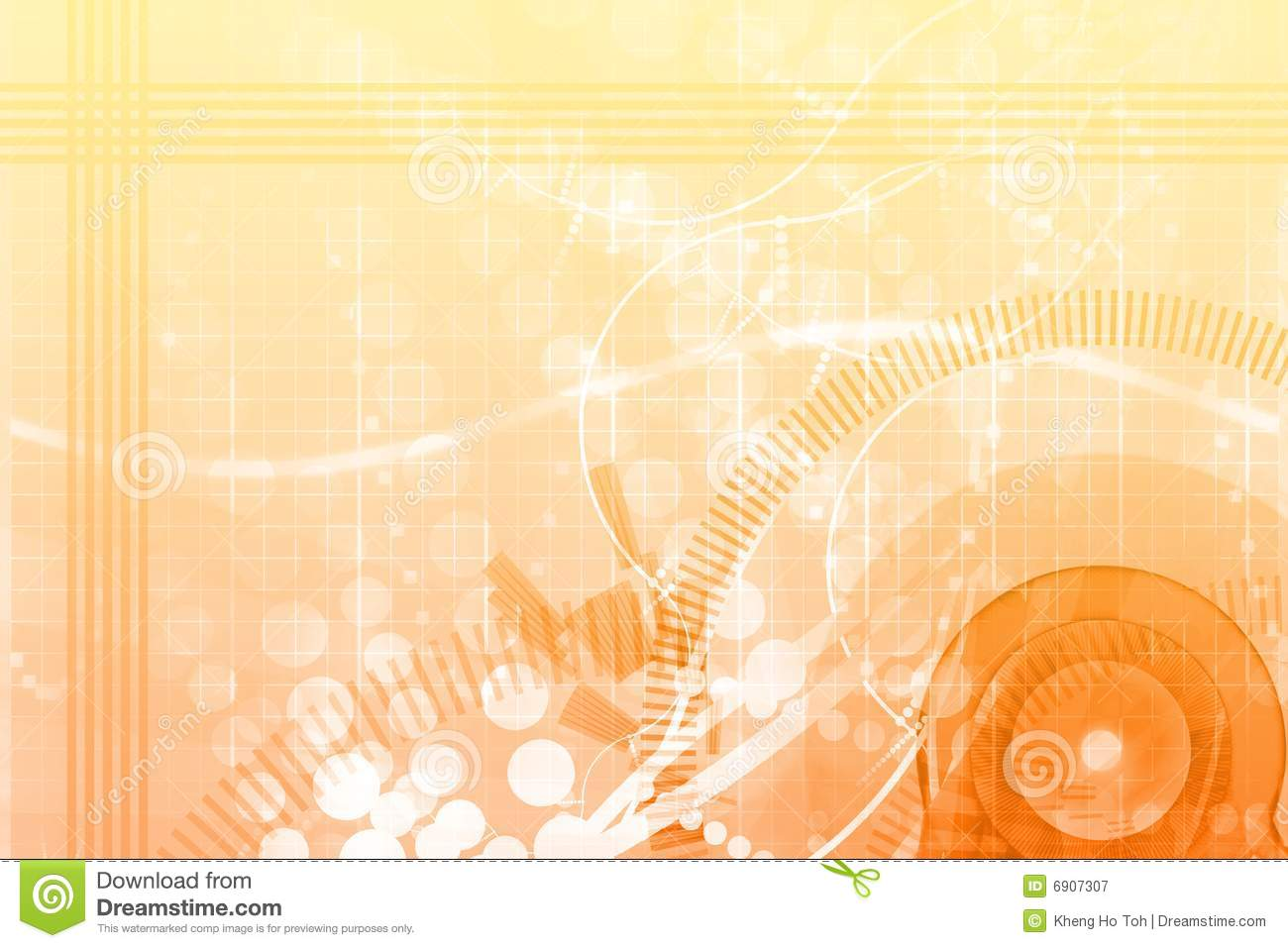 Abstract Sports Background Royalty Free Stock Image: Orange Fun Template Abstract Billboard Background Royalty