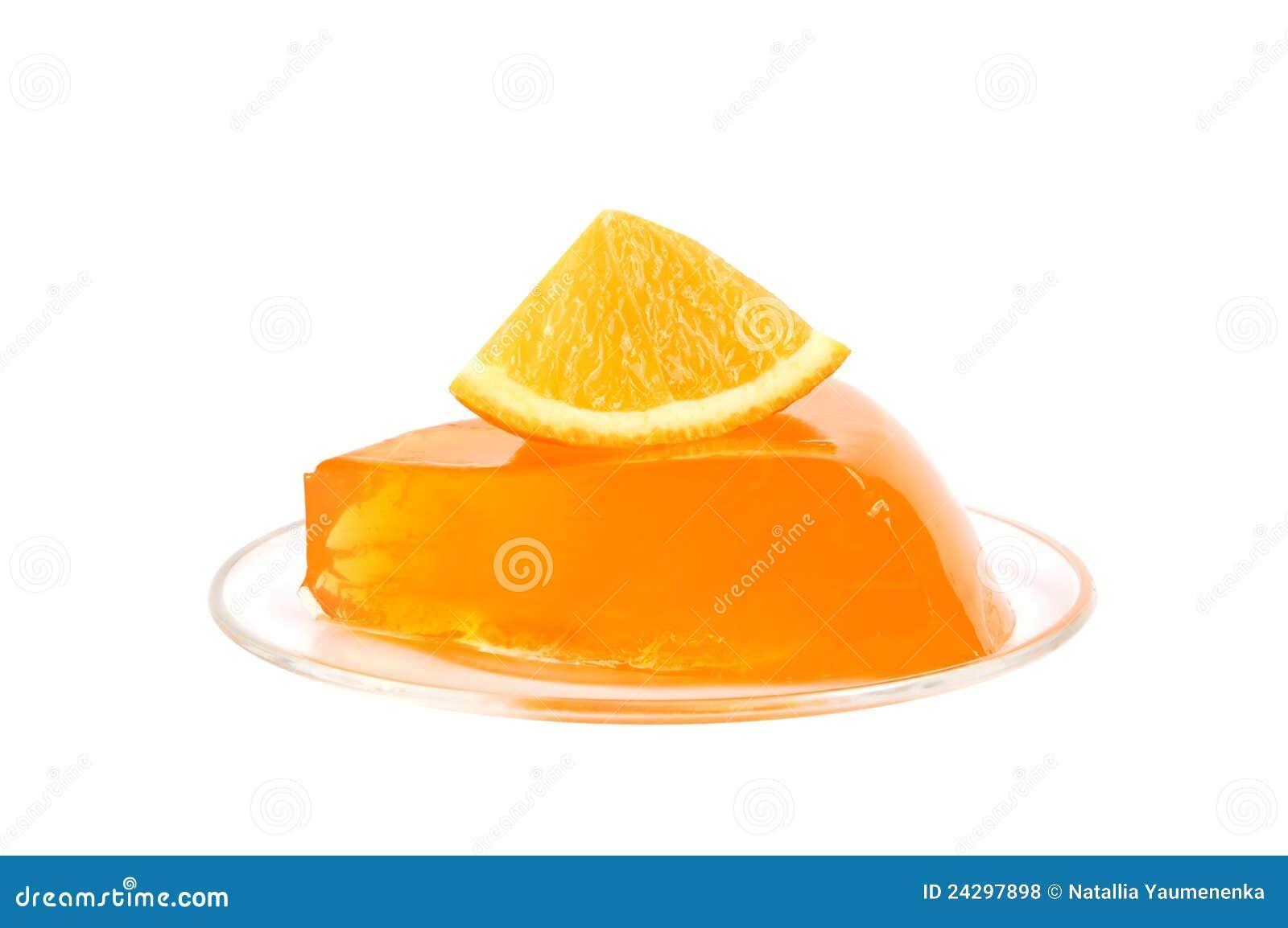 orange gelee stockfoto bild von gelee orange  24297898
