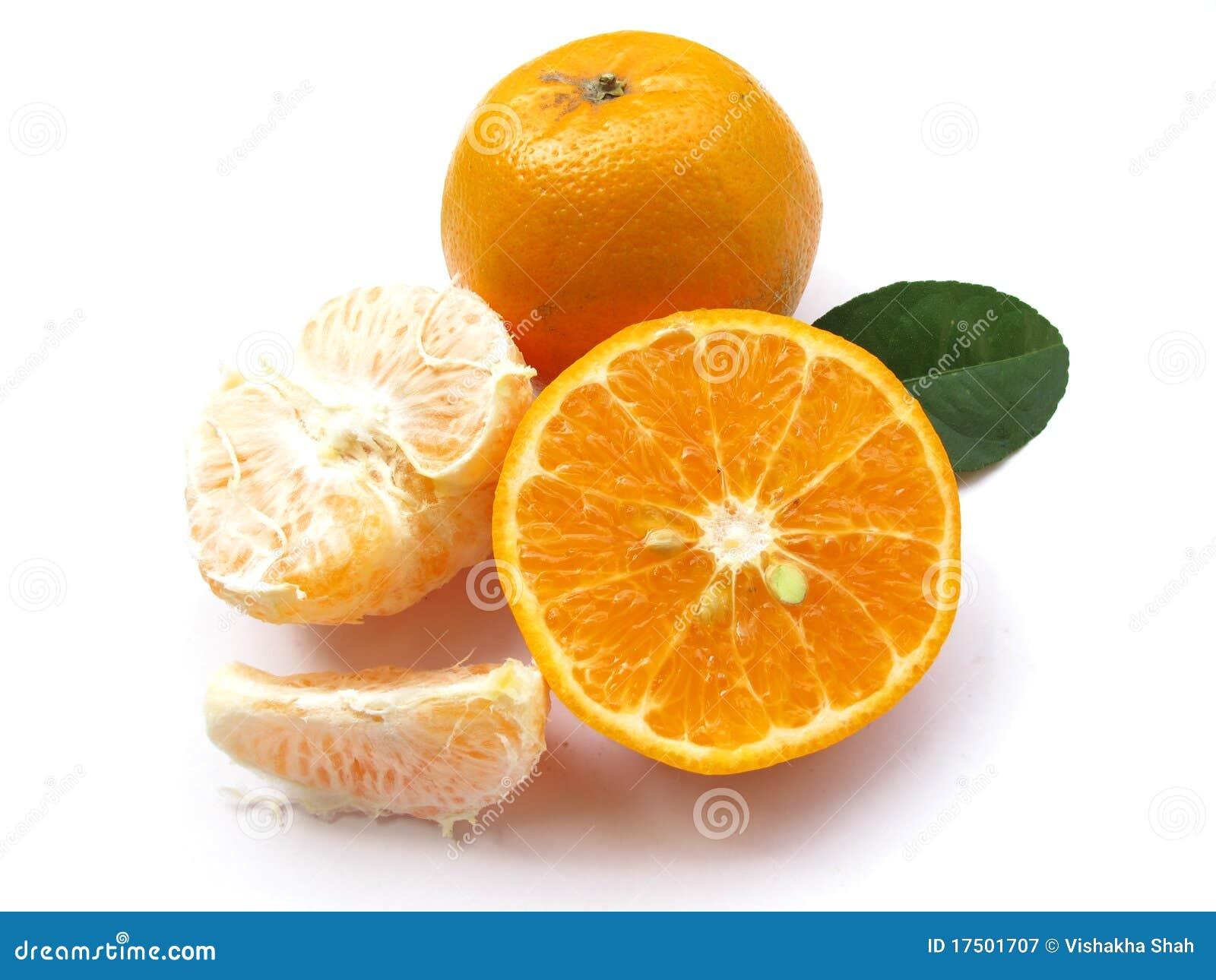 Orange-Getrenntes 1