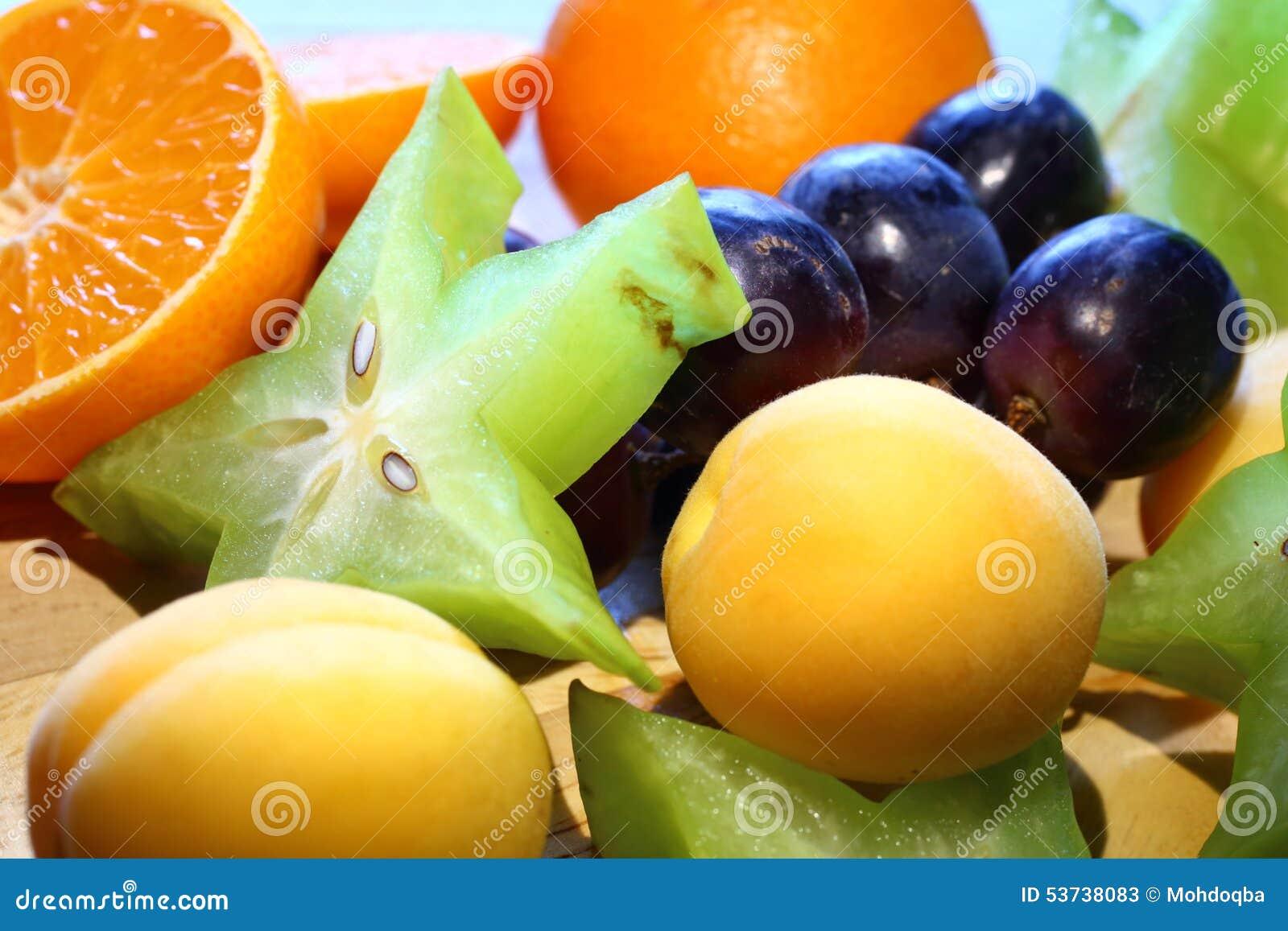 orange fruit star fruit