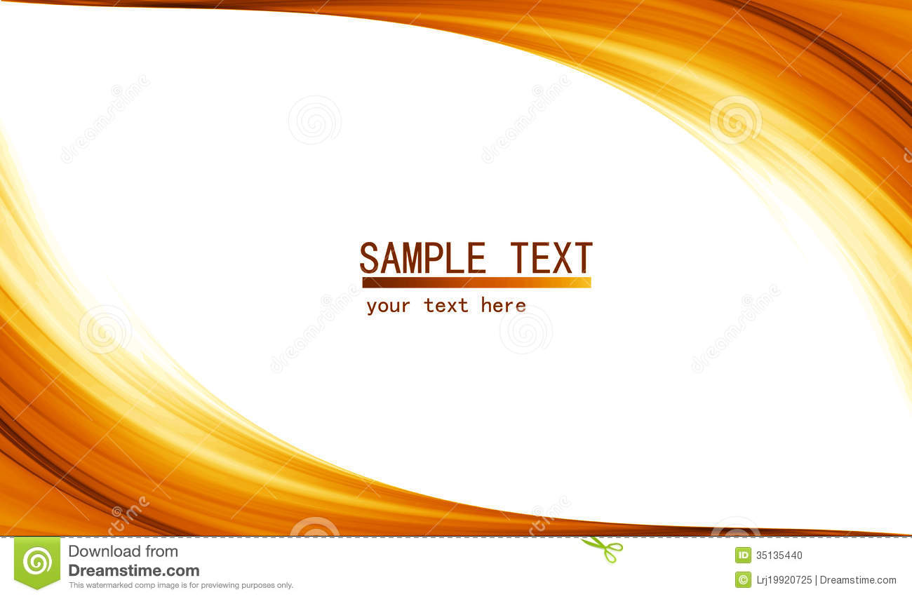 Orange High Tech Abstract Background Stock Photo Image