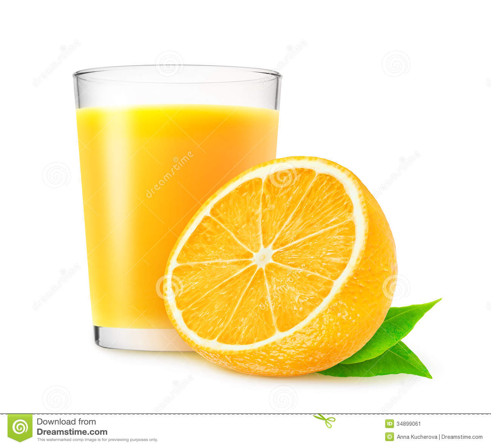 orange juice stock image image of leaves bright delicious 34899061