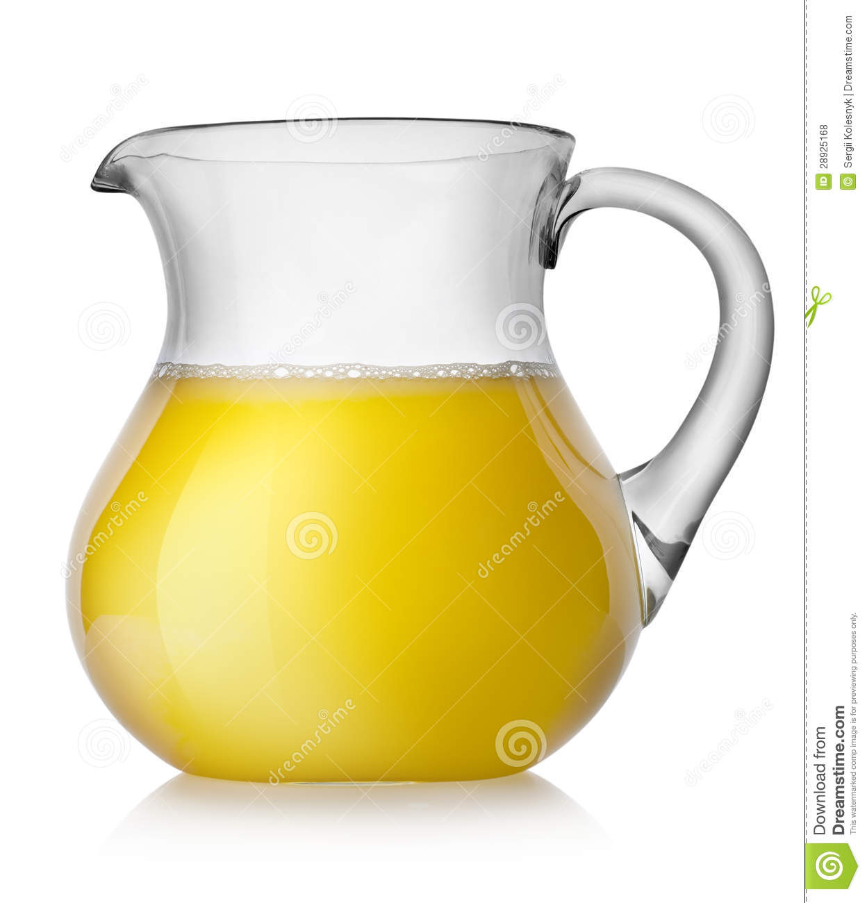 glass and pitcher with orange juice on transparent background  - orange juice in a jug royalty free stock photos