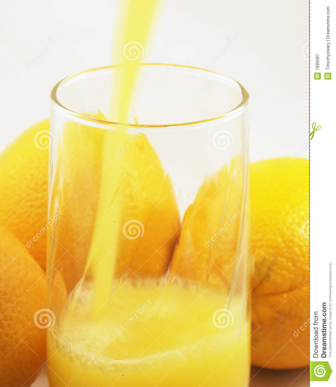 Orange juice pour royalty free stock photography image for Wine and orange juice name