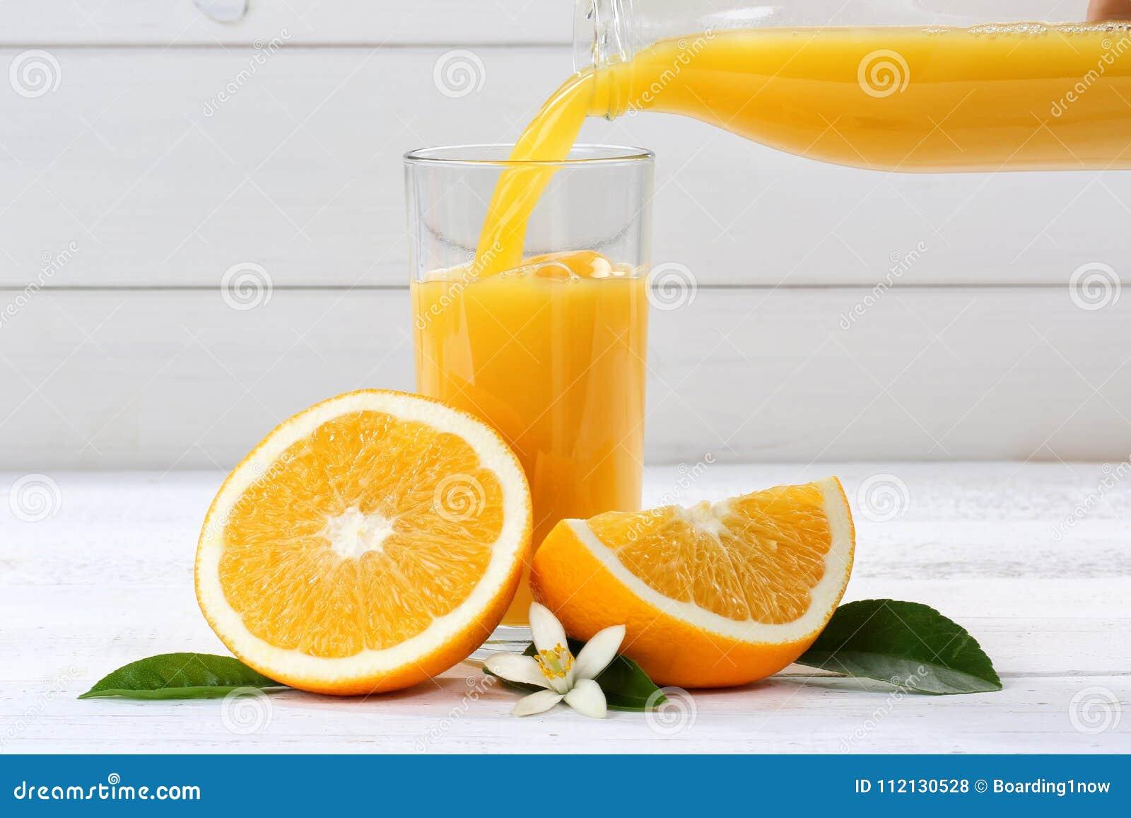 Orange juice pouring pour oranges fruit fruits