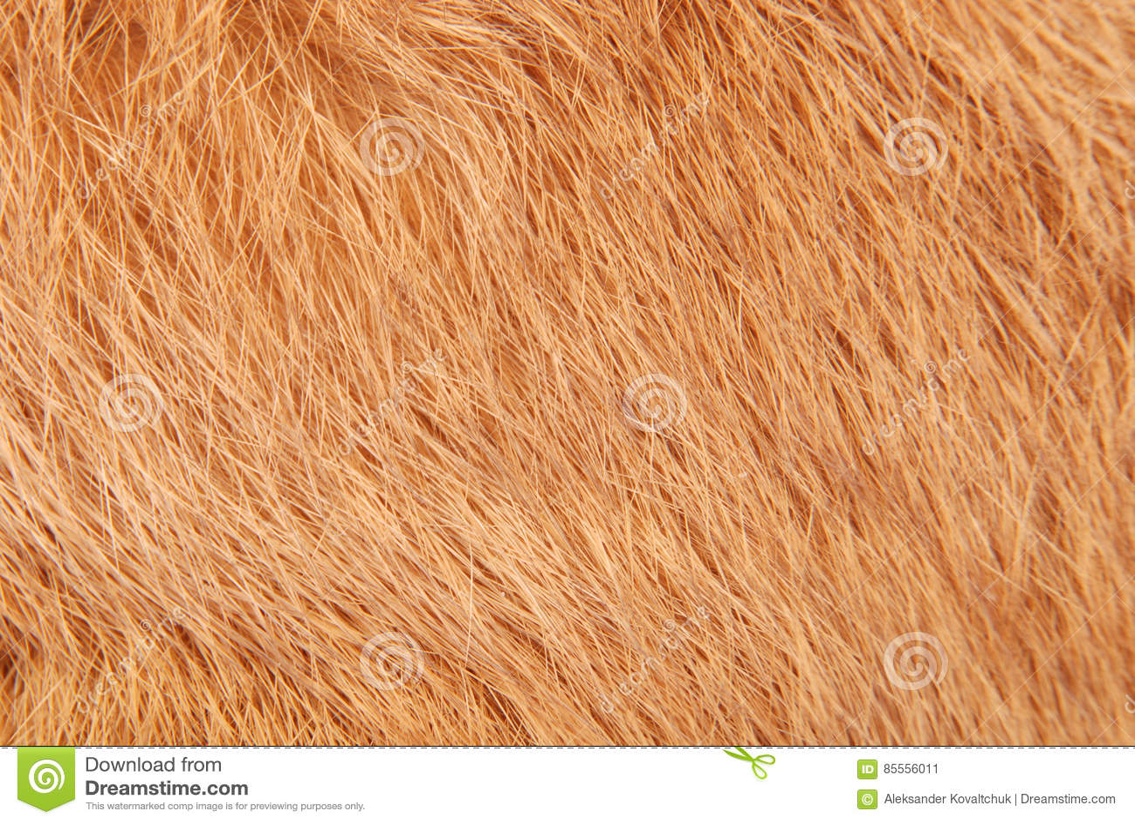 Orange Kaninchenpelz als Hintergrund