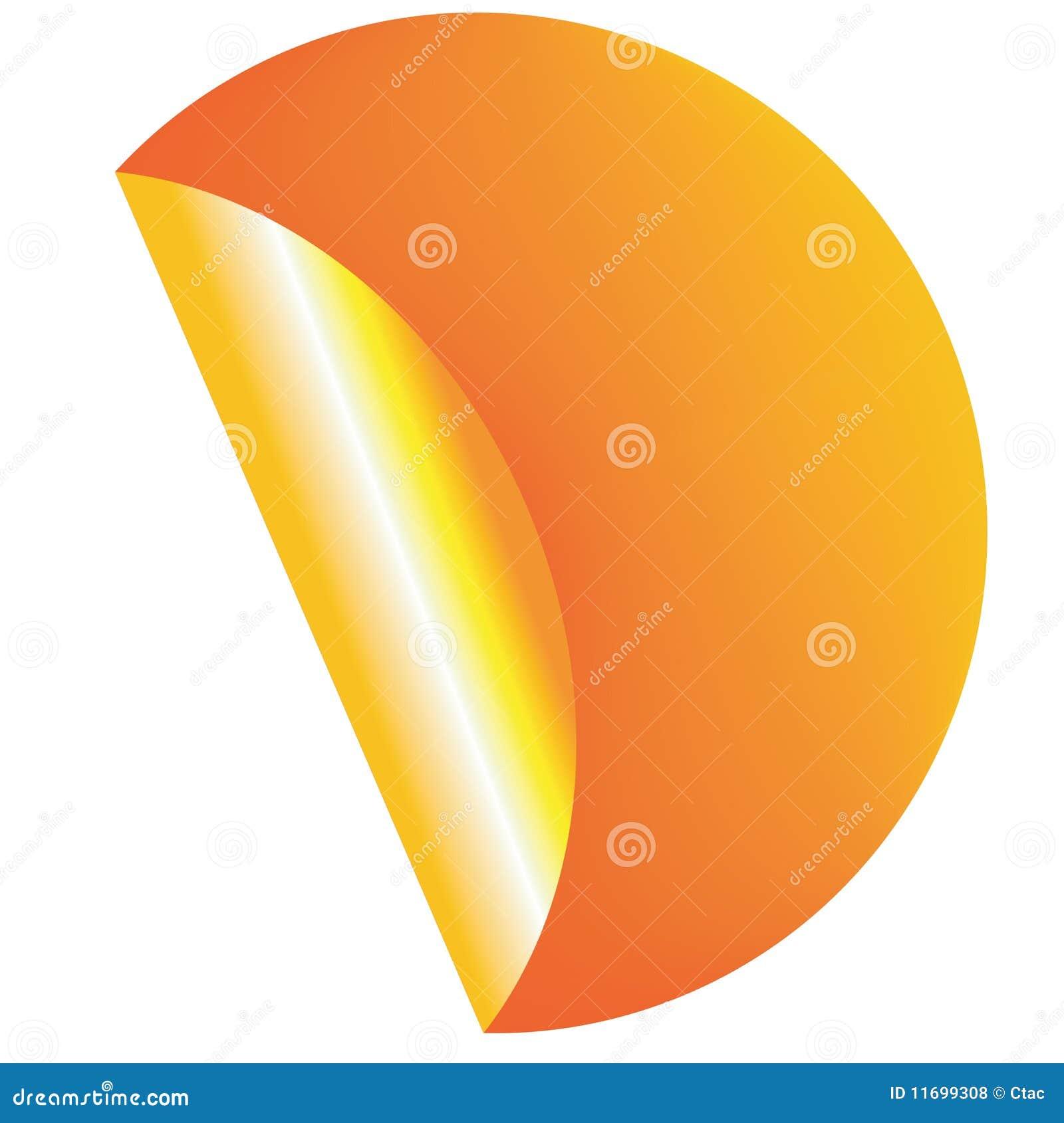 Orange Kennsatz