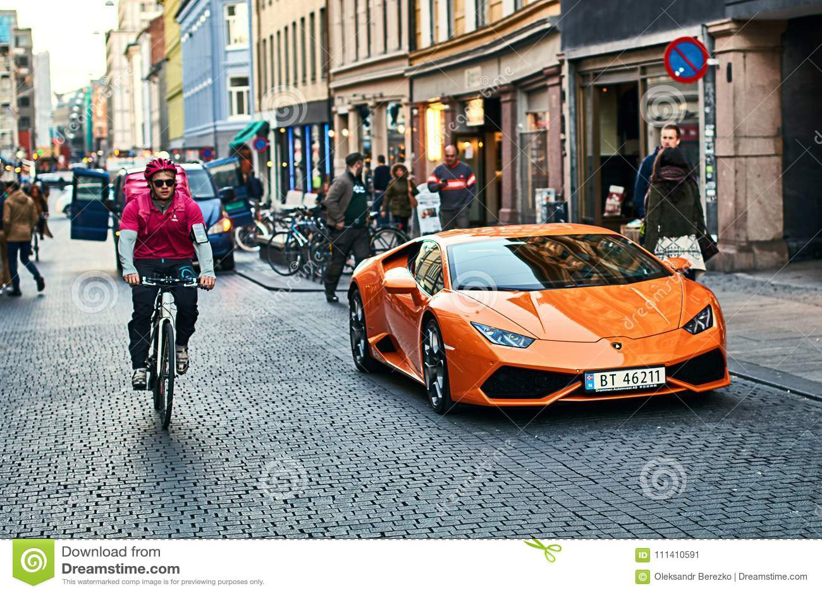 Orange Lamborghini Huracan Lp 580 2 Spyder Car Released Circa 2016