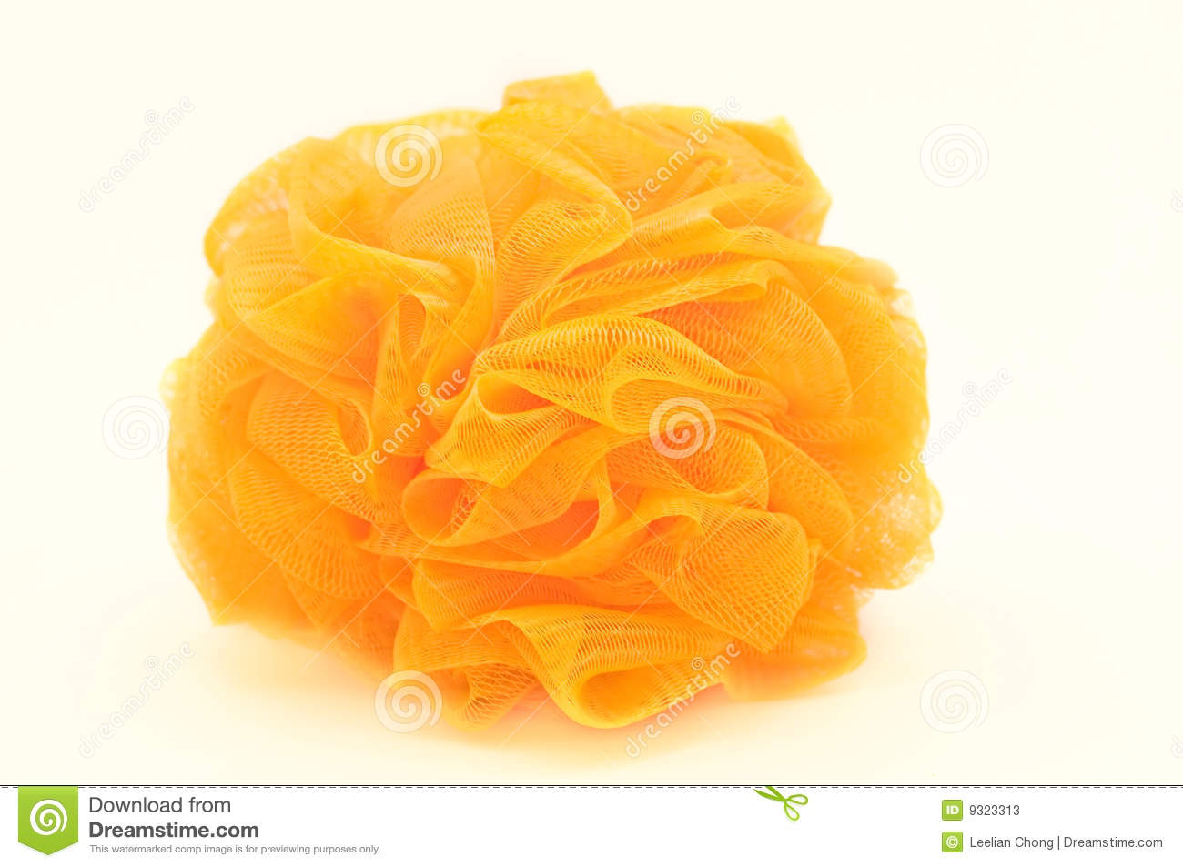 Orange Loofah Stock Photos Image 9323313