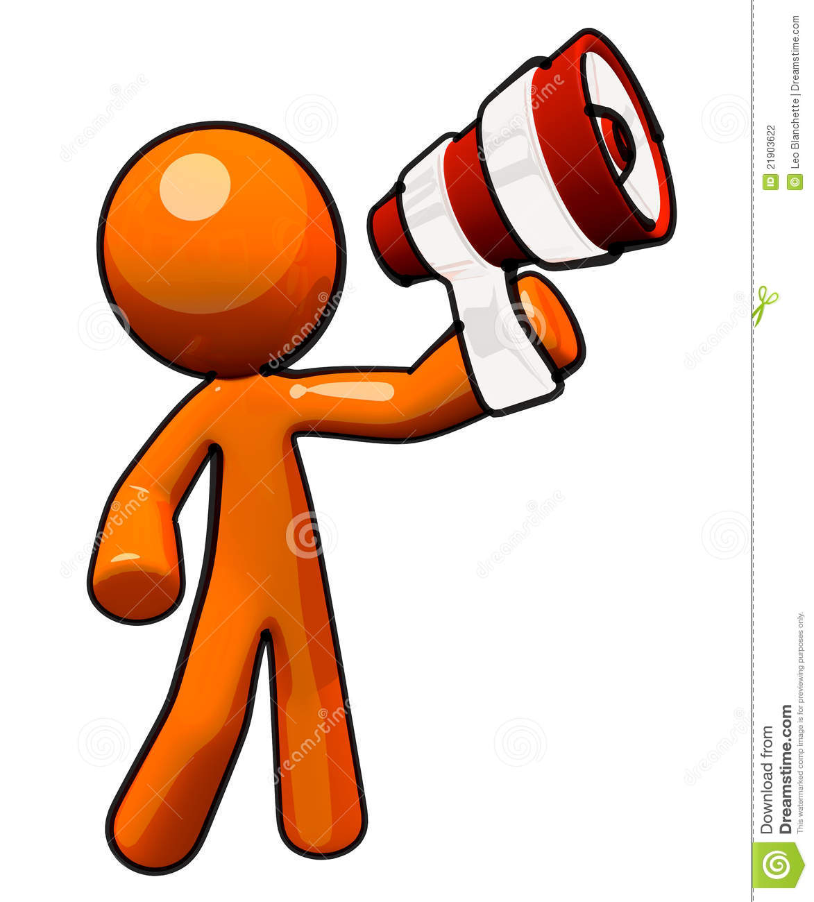 clipart man with megaphone - photo #32
