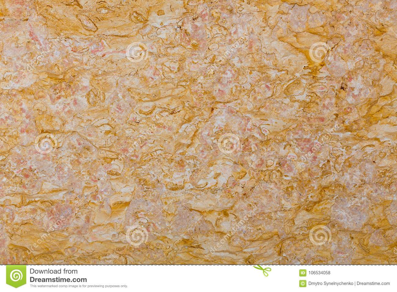 Orange Marble Tiles Texture Wall Abstract Background Stock
