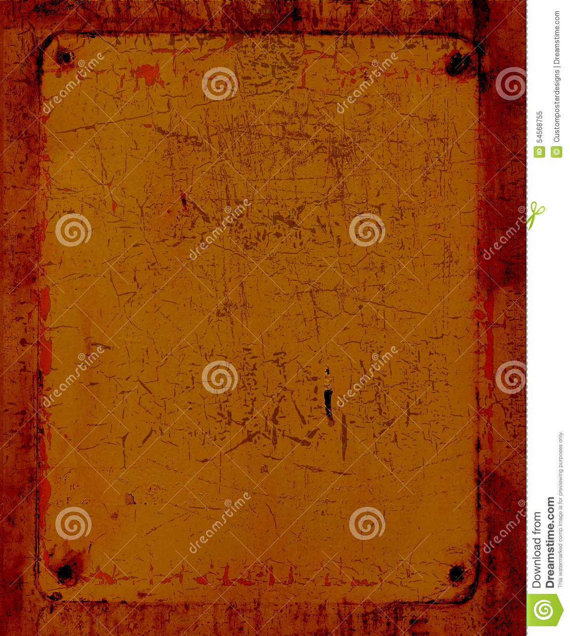 Download An Orange Metal Grunge Texture. Stock Image - Image of scratched, rough: 54568755