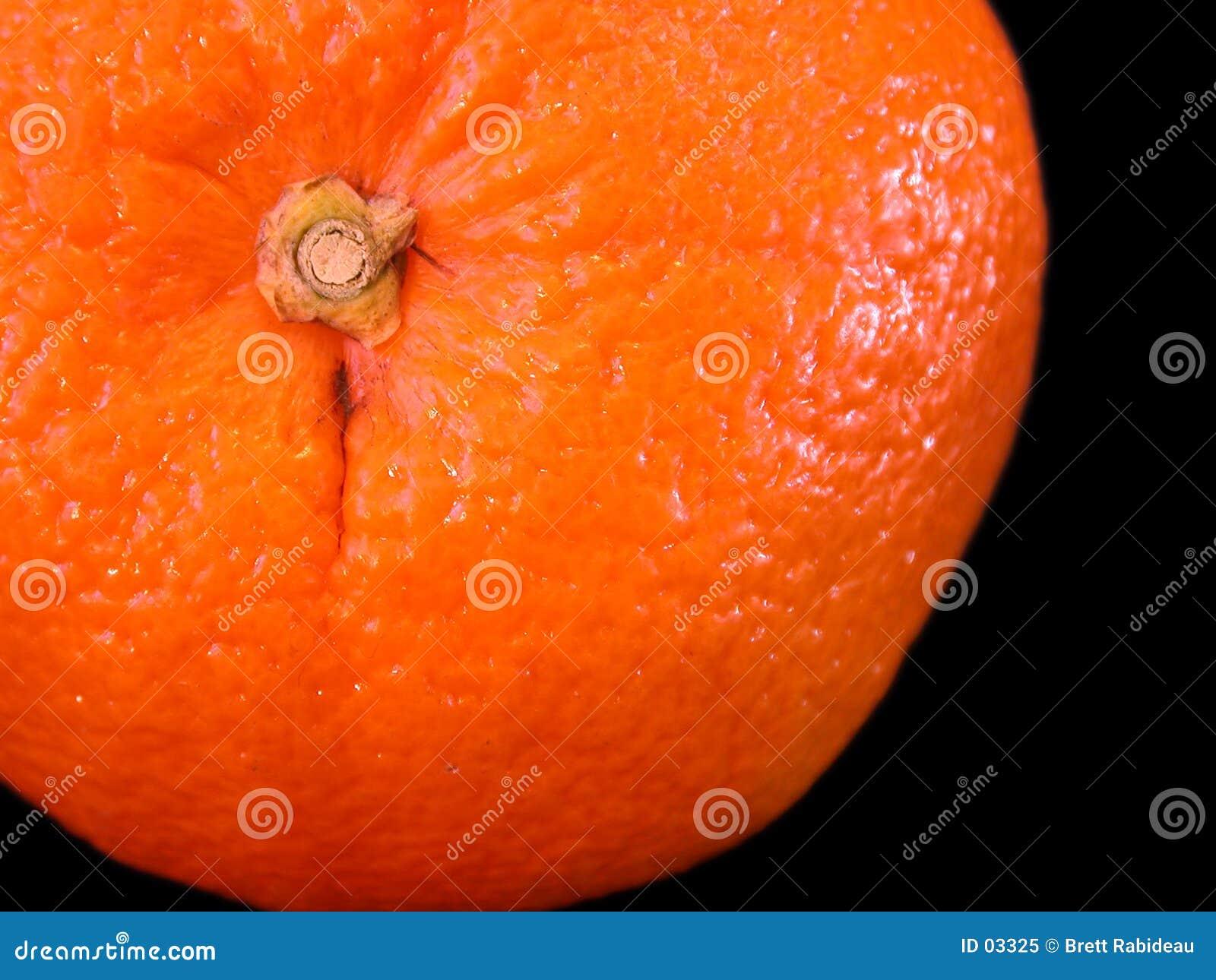 Orange Nahaufnahme