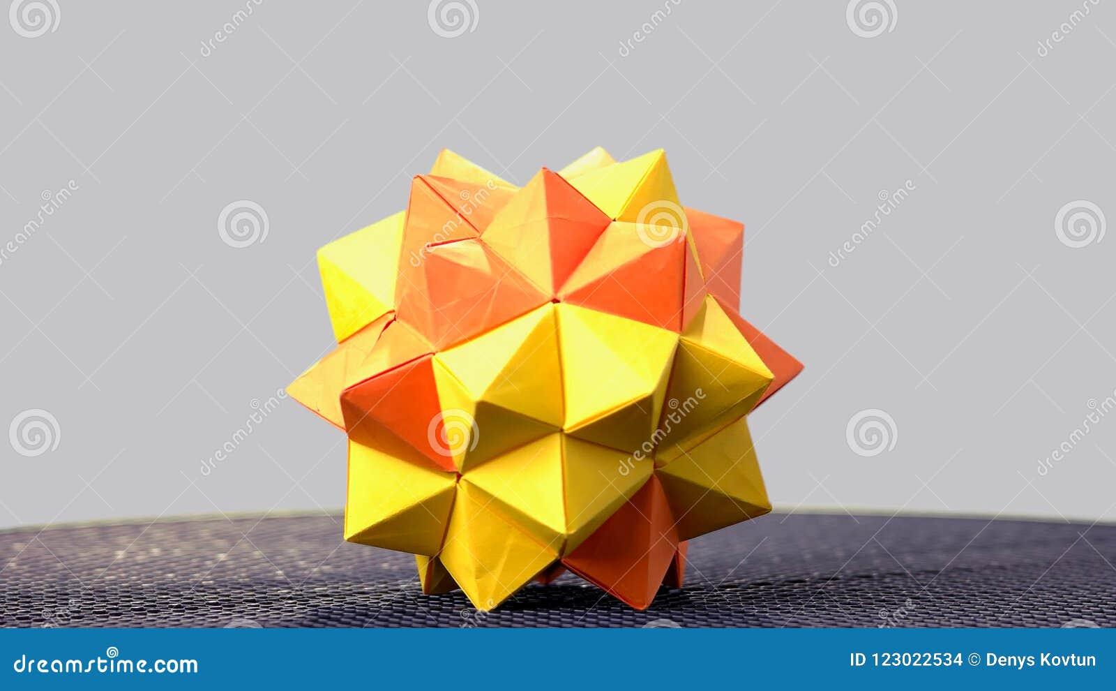 DIY Origami: DIY Color origami ball   Origami ball   450x800