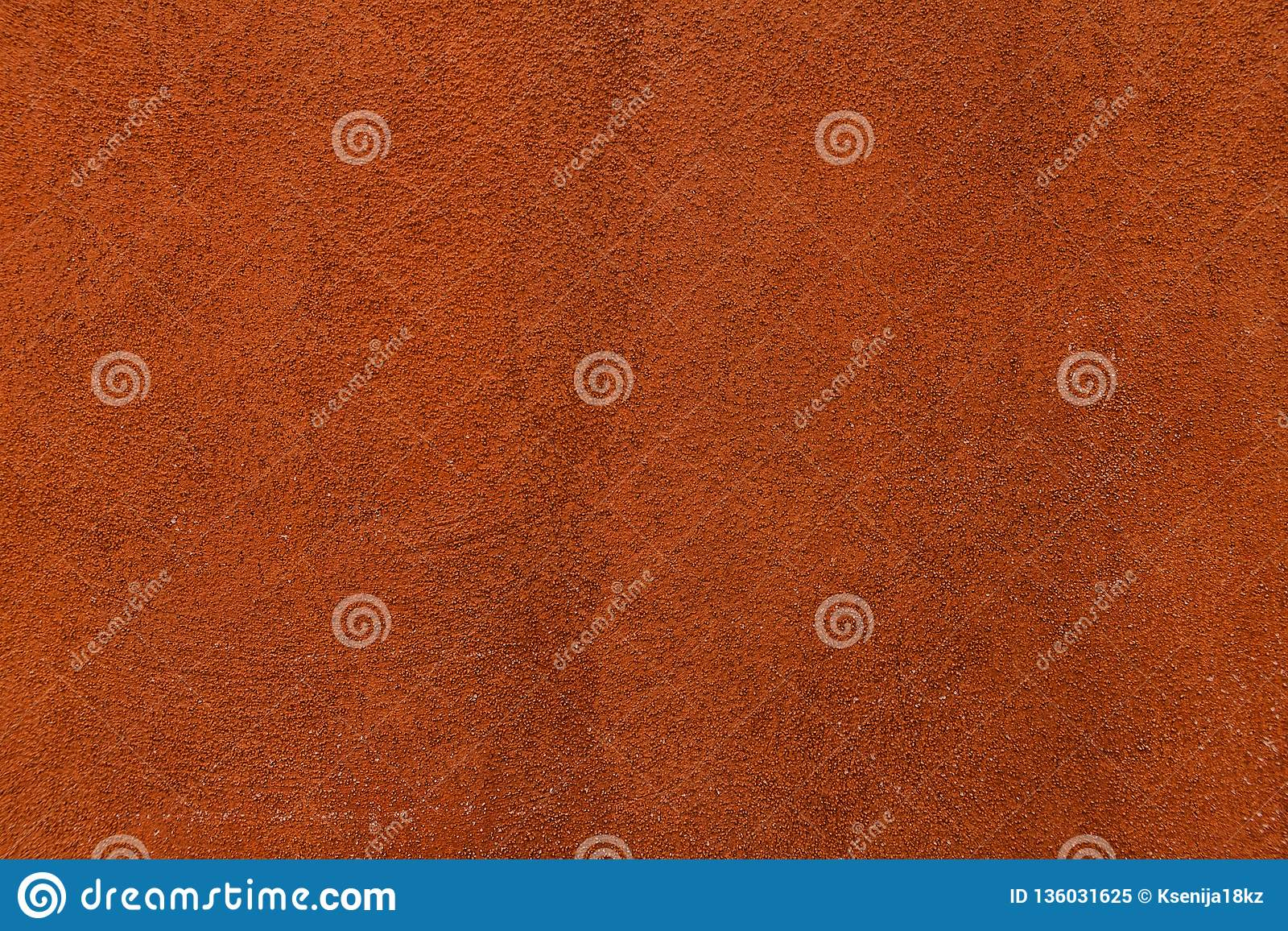 Orange Paint Texture Of Old Building Wall Stock Image Image Of