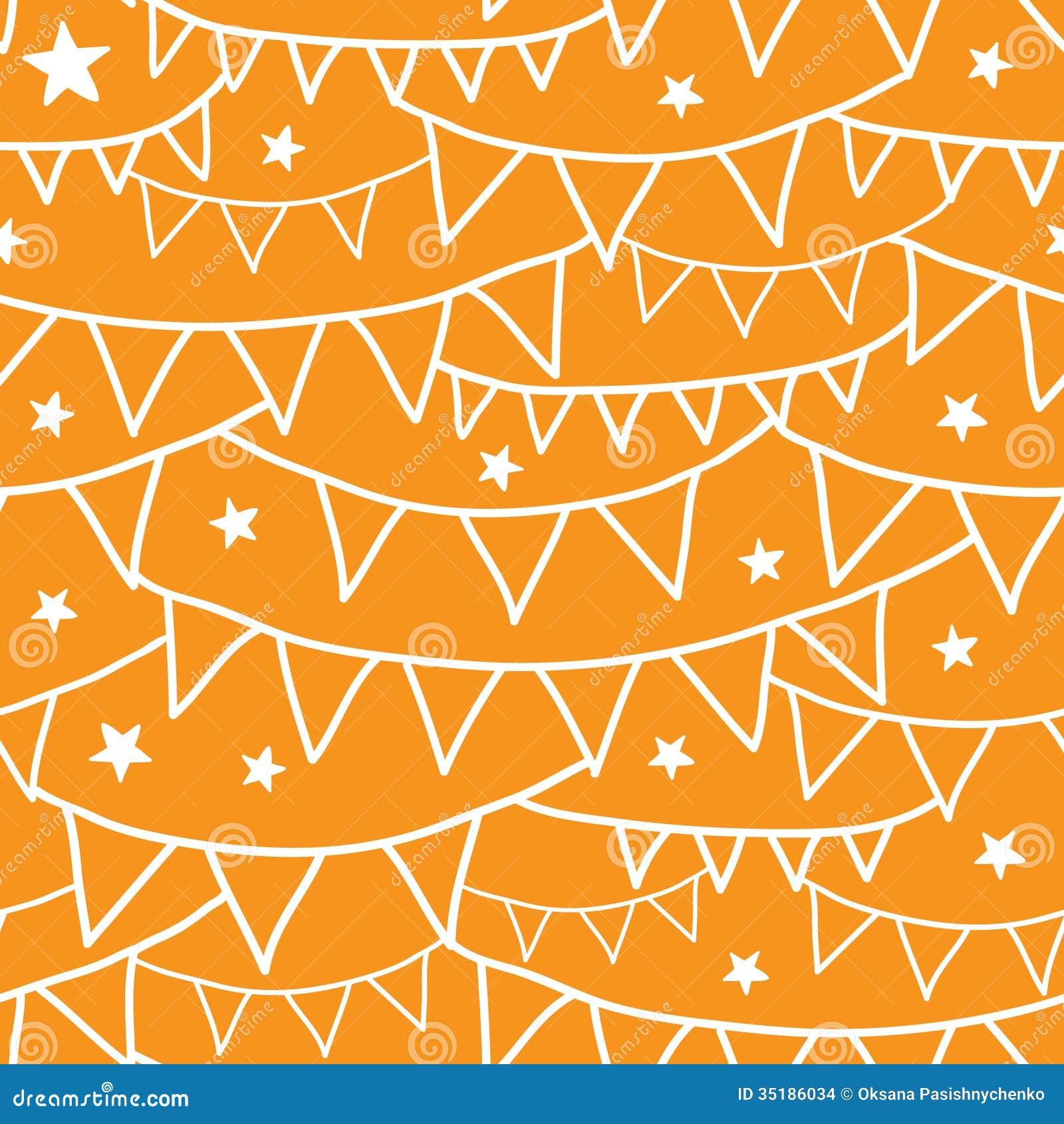 Vector Orange Party De...