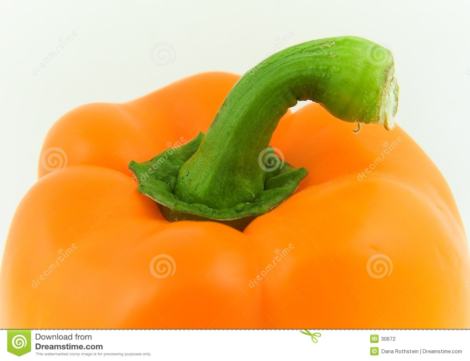 Orange Pfeffer
