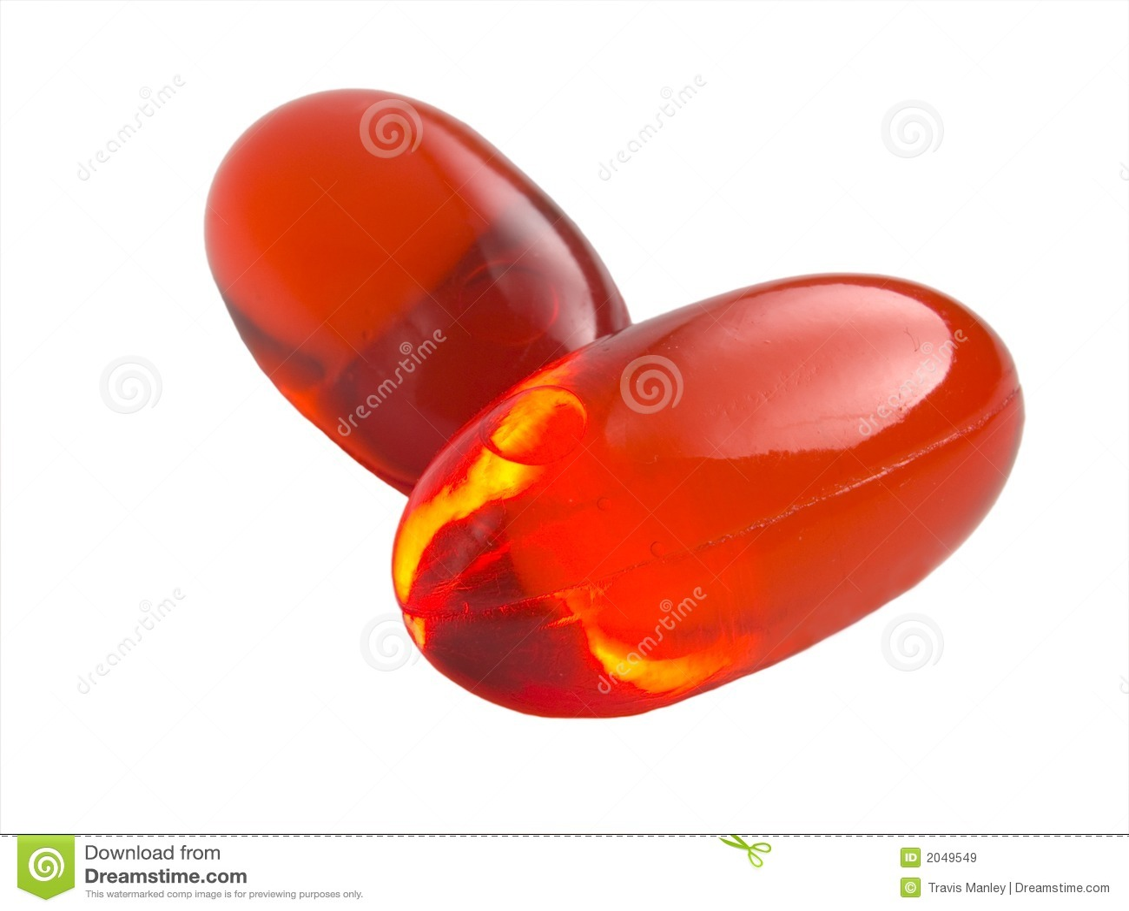 Orange Pills Royalty Free Stock Images - Image: 2049549