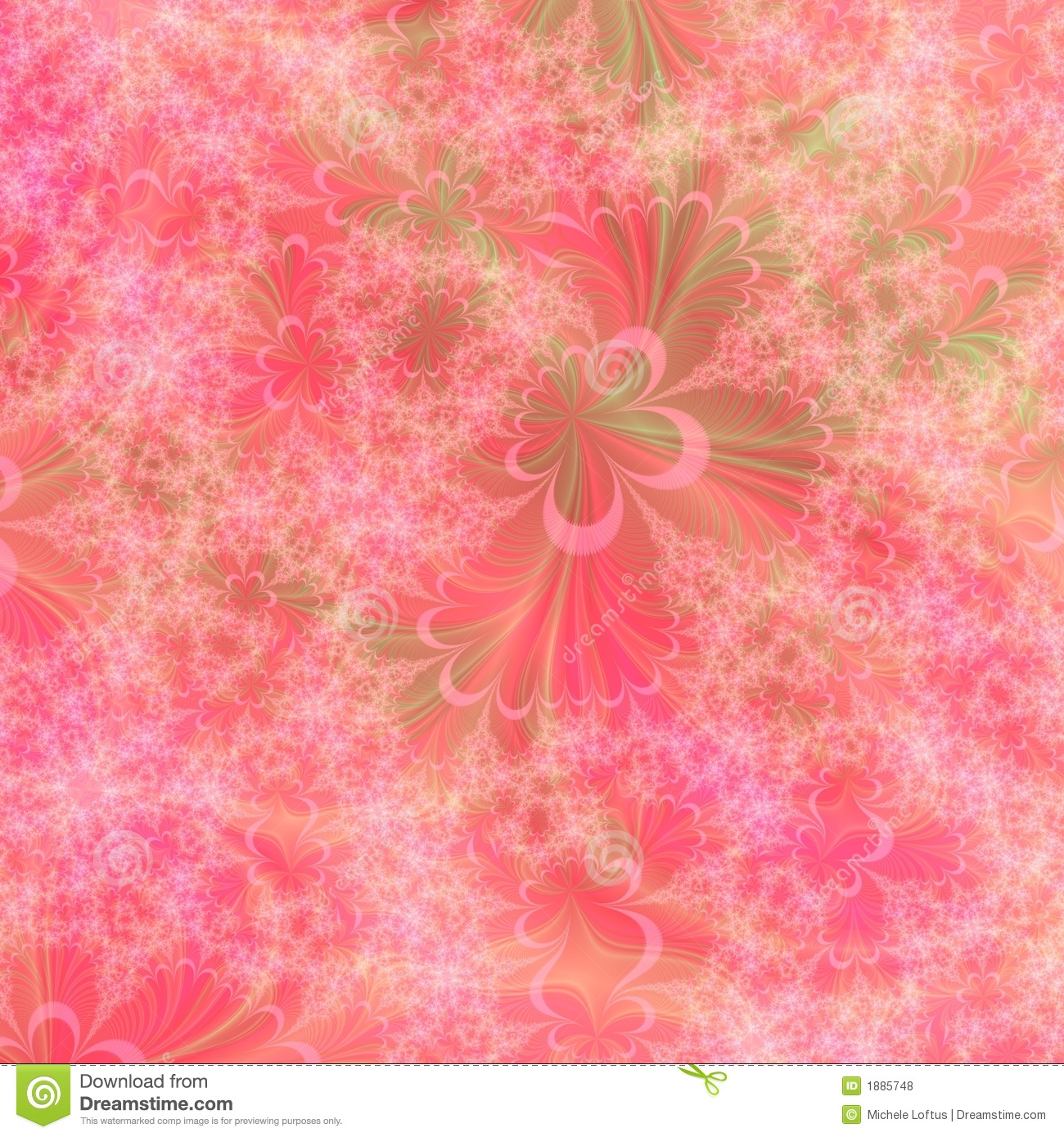 orange  pink and green abstract background design template